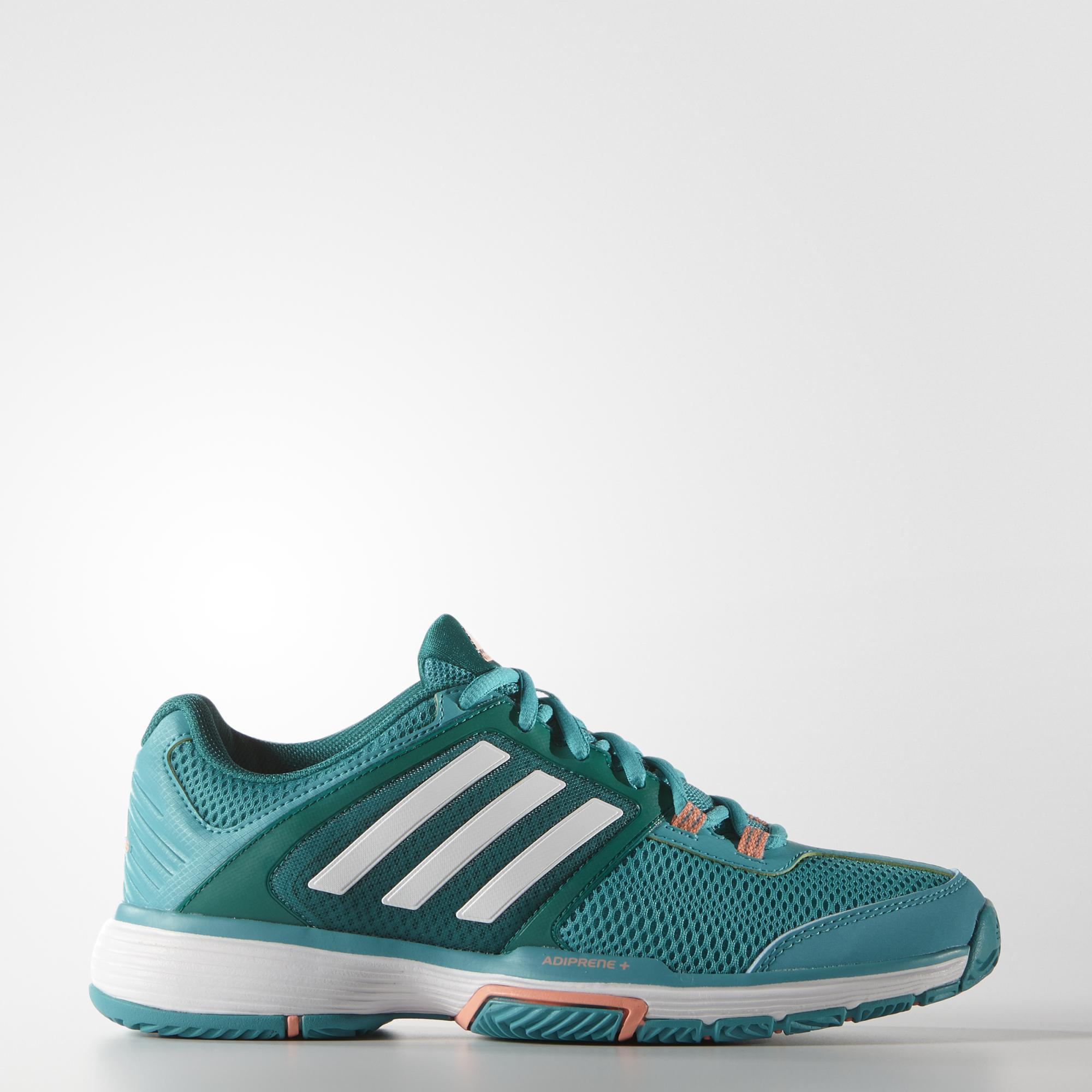 new style 81563 36260 Adidas Womens Barricade Club Tennis Shoes - Green