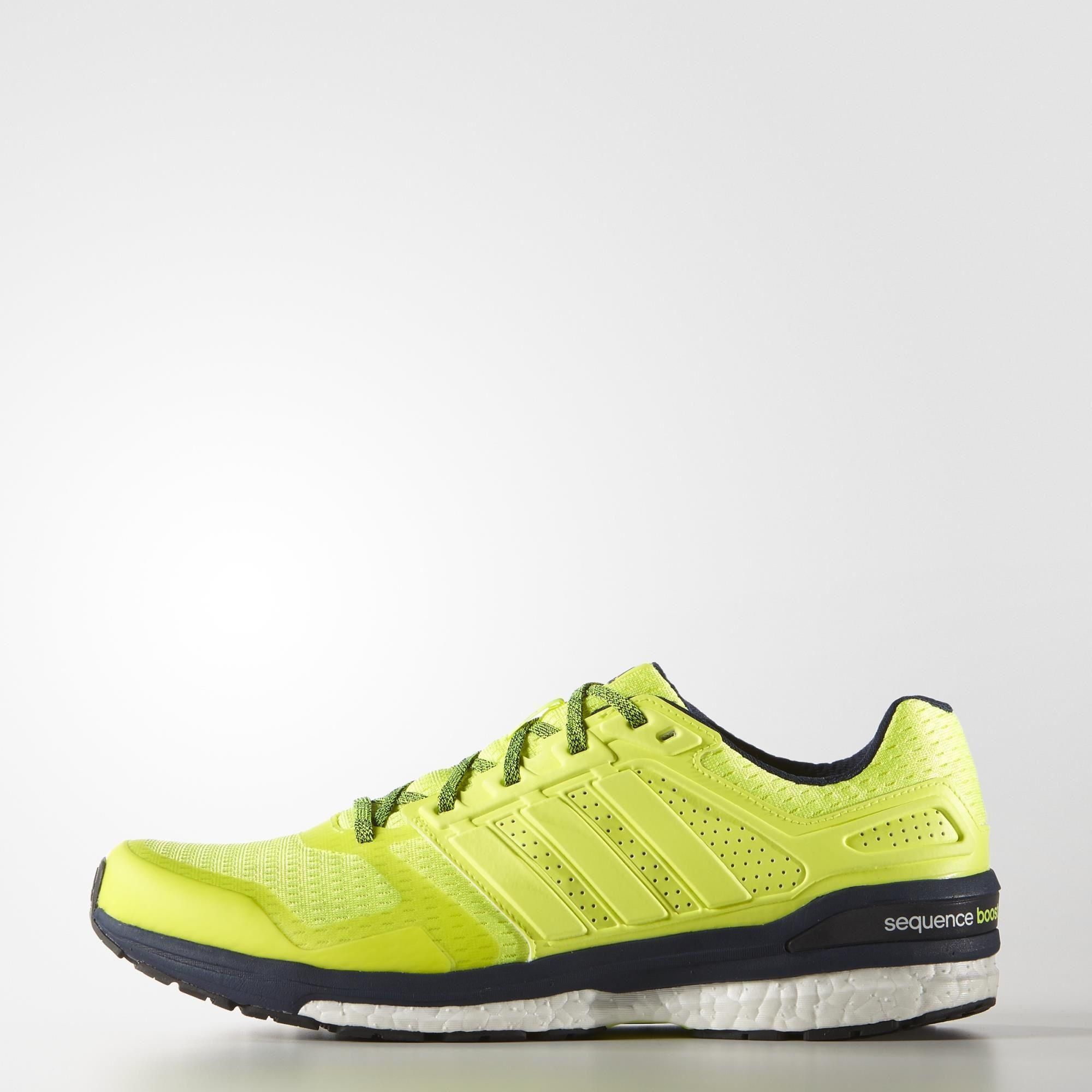 35a697891c20f Adidas Mens Supernova Sequence Boost 8 Running Shoes - Yellow -  Tennisnuts.com