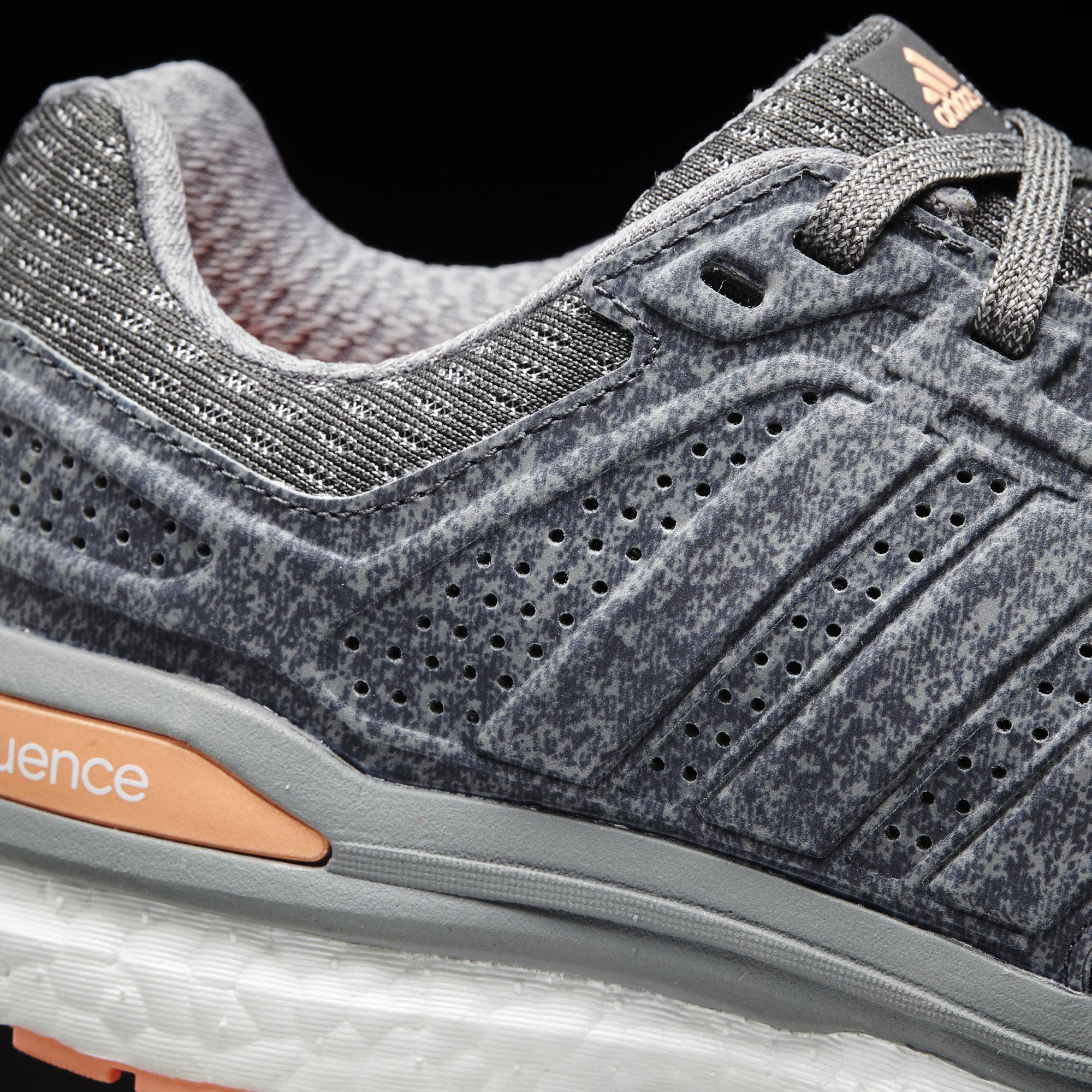 23bafbd981c30 Adidas Womens Supernova Sequence 8 Boost Running Shoes - Grey ...