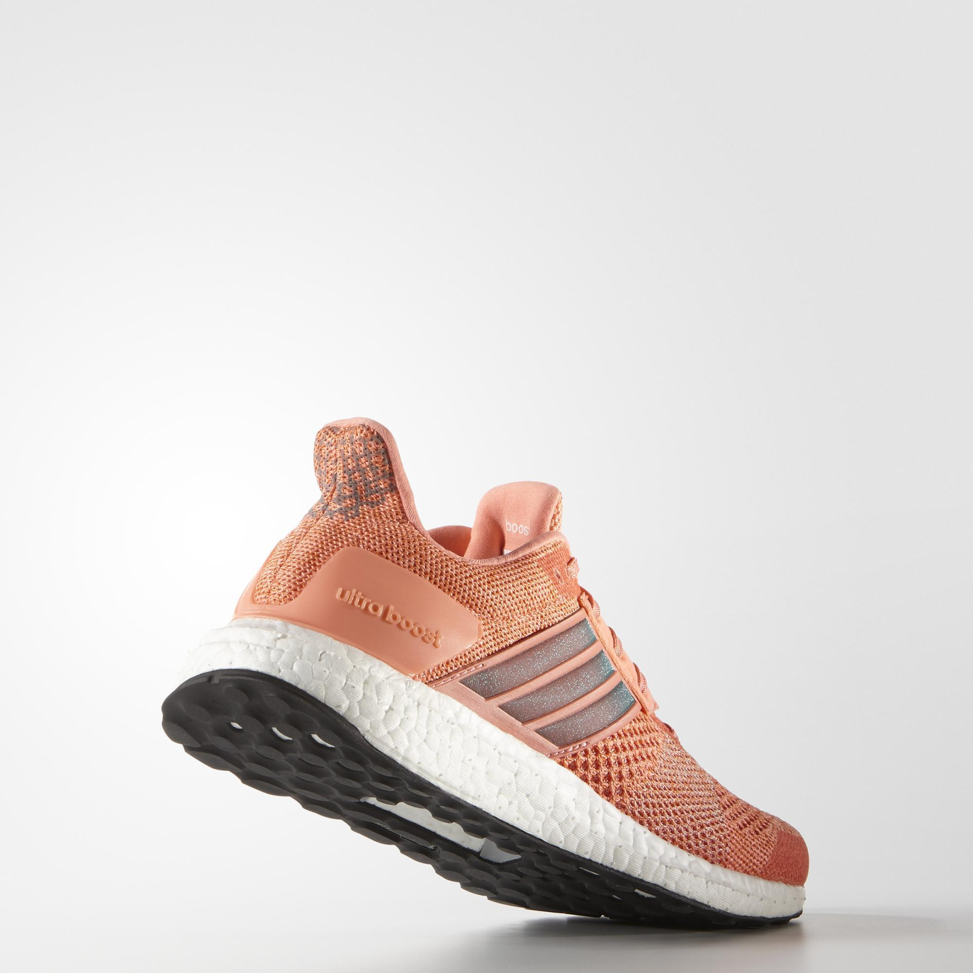 Adidas Womens Ultra Boost St Running Shoes - Orange