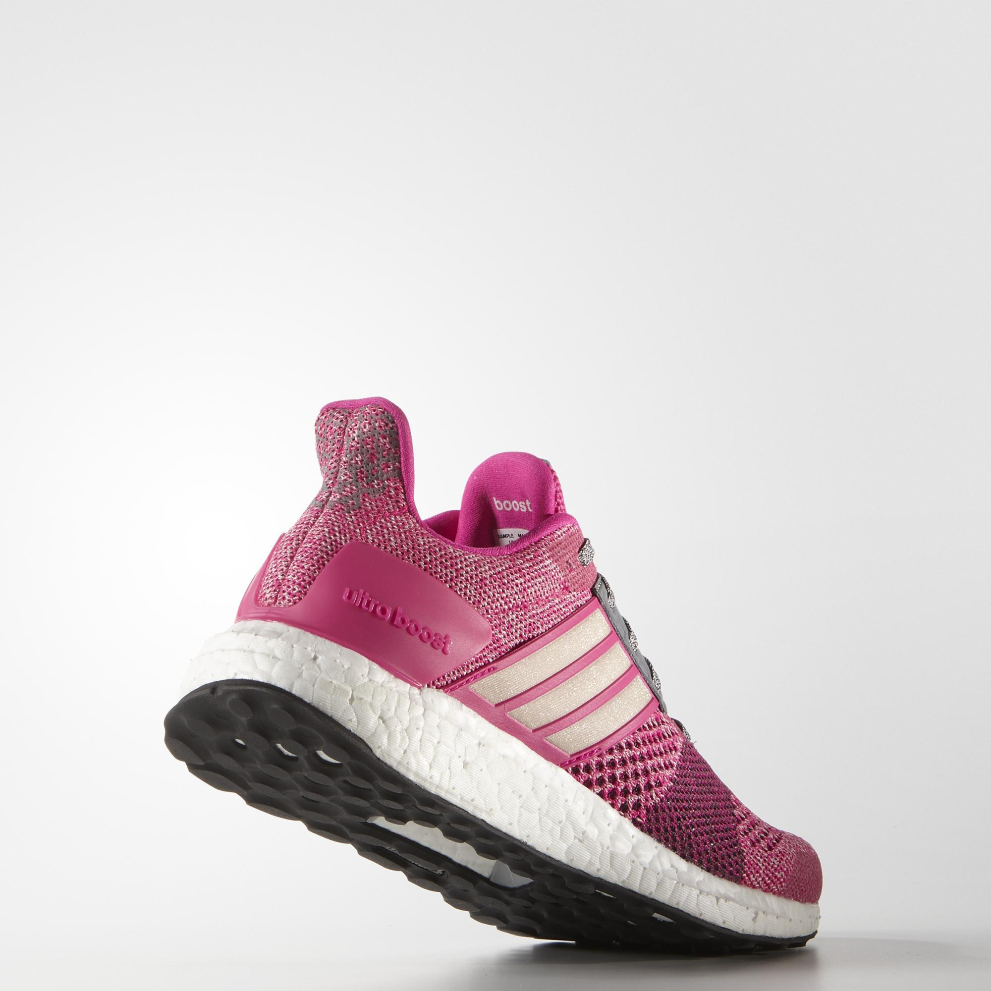Adidas Womens Ultra Boost St Running Shoes - Pink