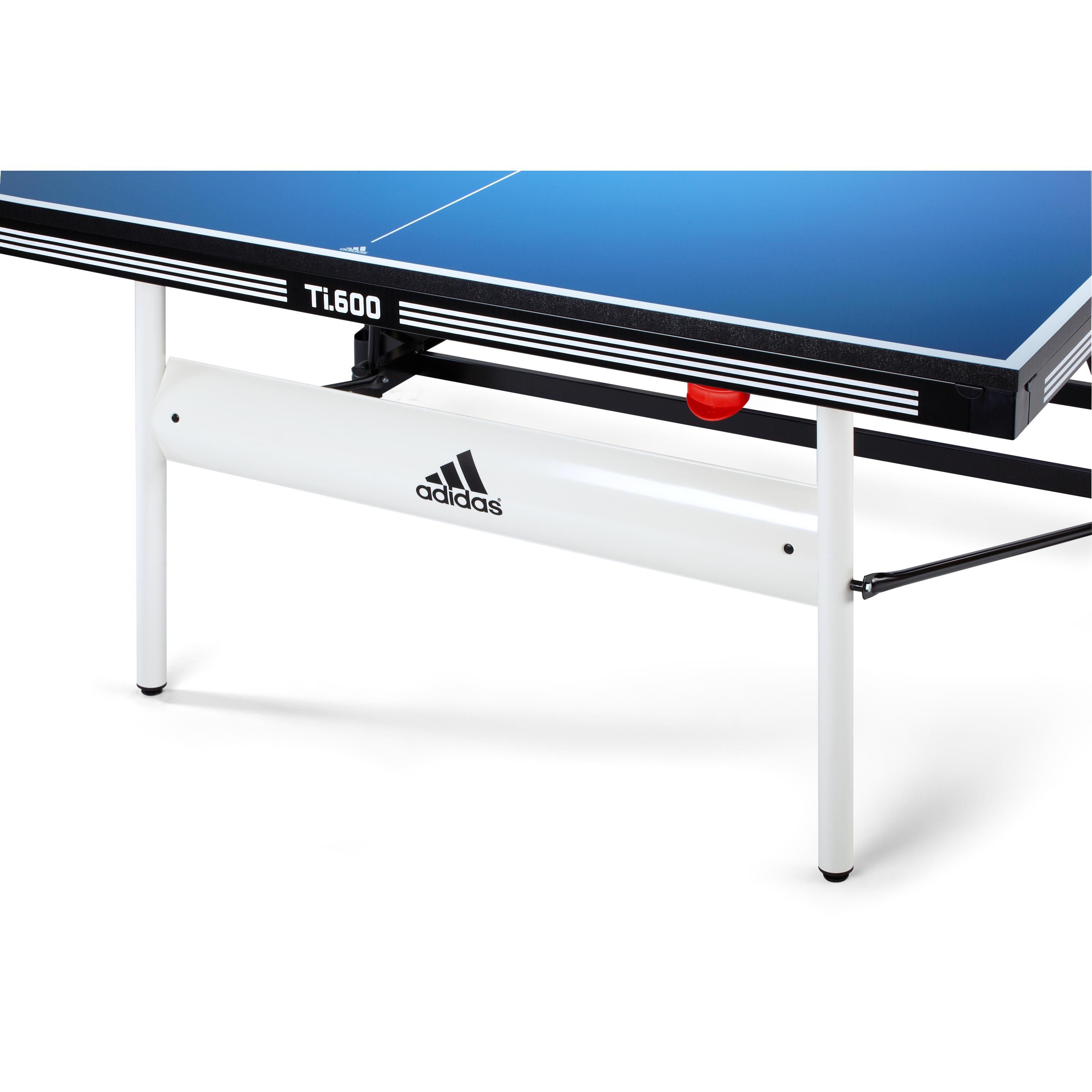 Adidas indoor table tennis table blue for Table tennis 99