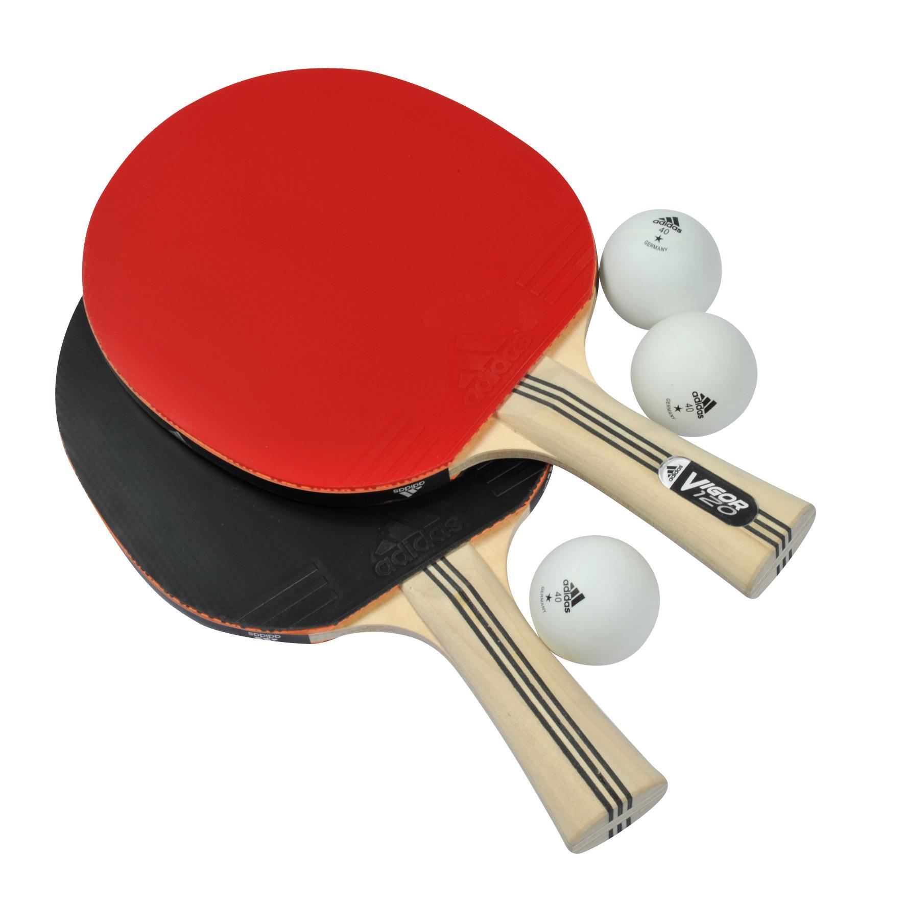 3c27080173f Adidas Vigor 120 Table Tennis Bats and Balls Set - Tennisnuts.com