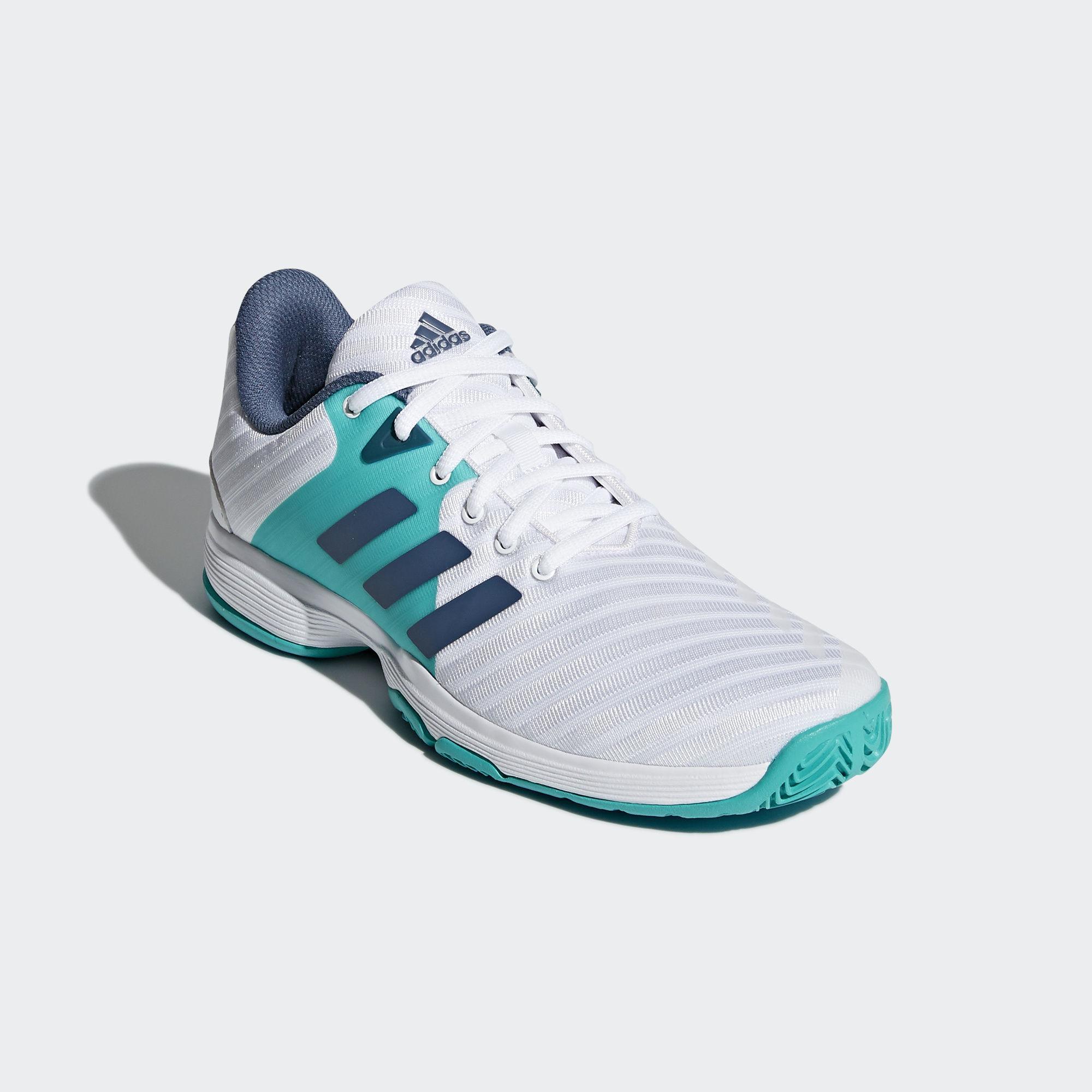 new product 478f8 128f8 Adidas womens barricade court tennis shoes white blue jpg 2000x2000 Adidas  womens tennis shoes blue
