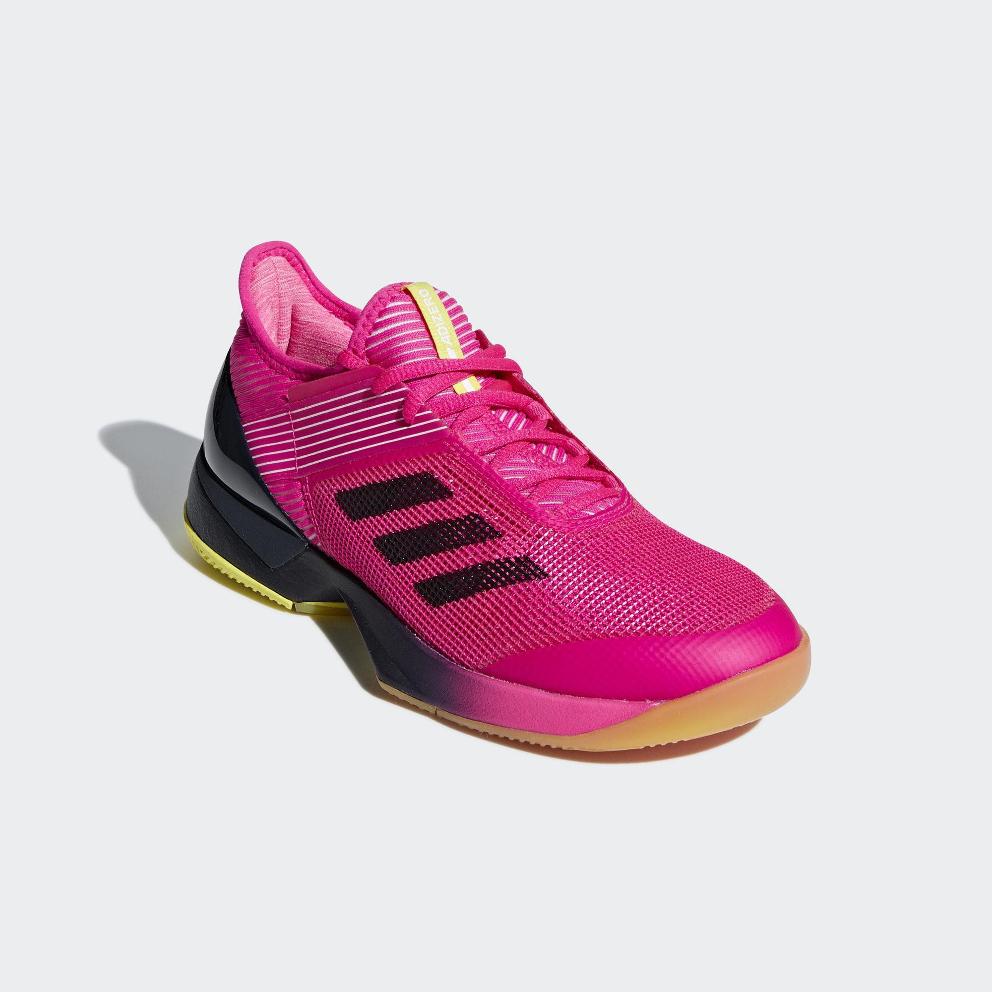 Adidas Womens Adizero Ubersonic 3.0 Tennis Shoes - Shock ...