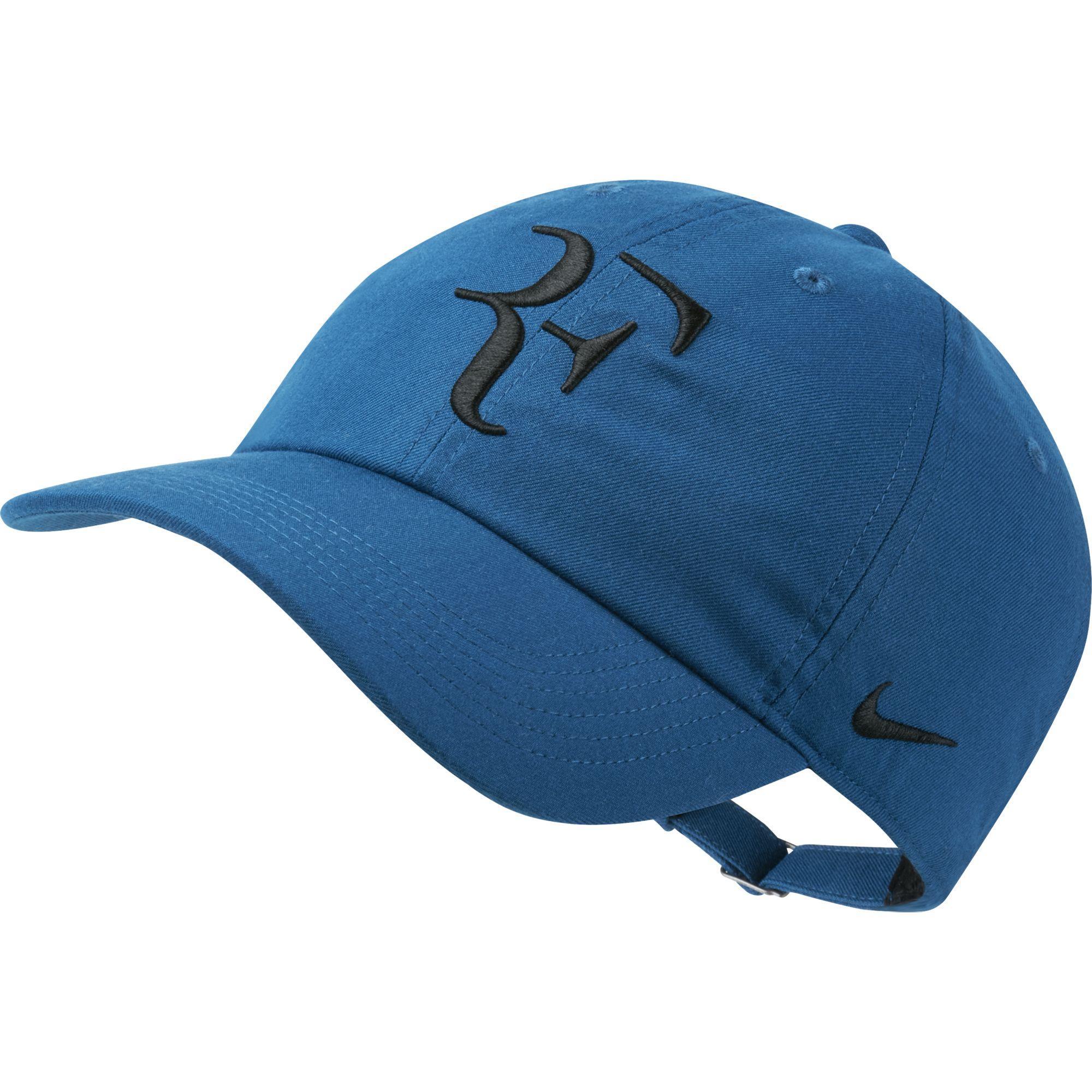 Nike Rf Aerobill H86 Adjustable Cap Blue Force Black
