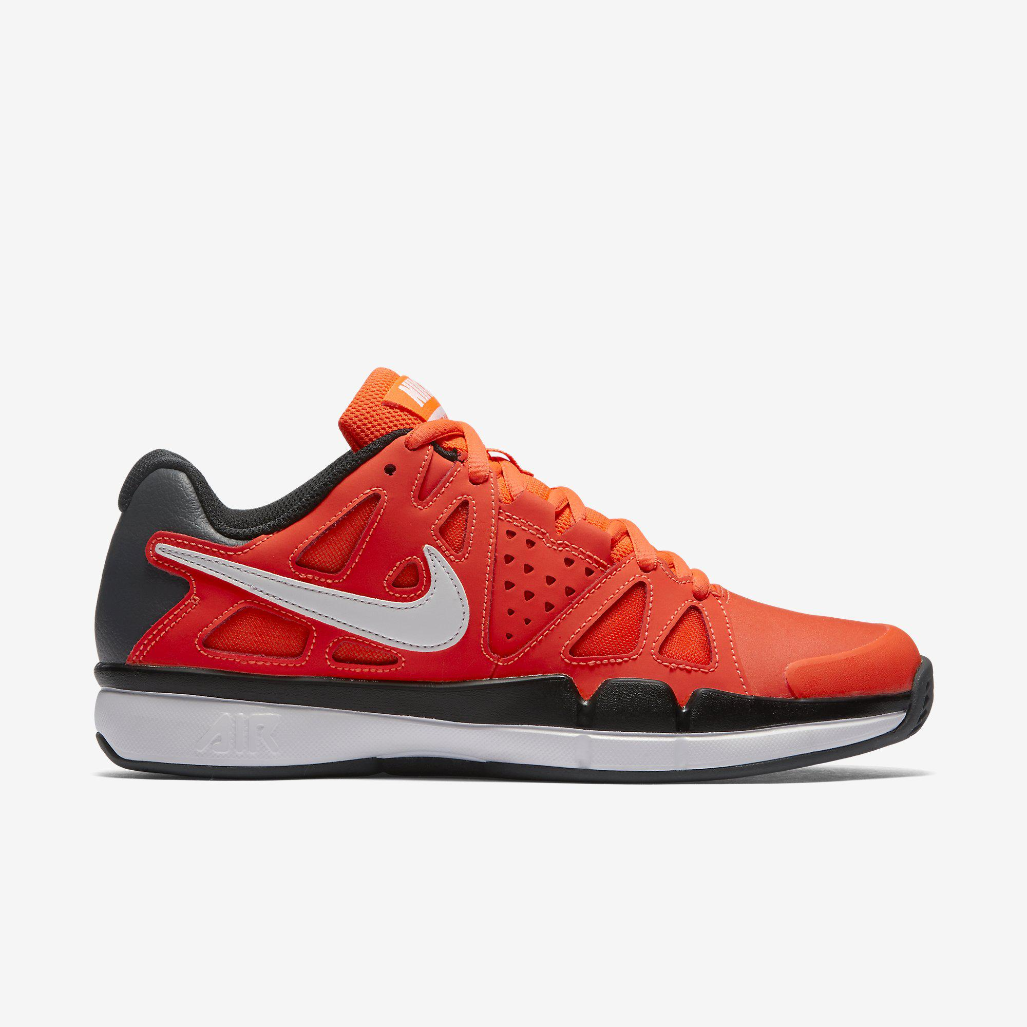 Nike Mens Air Vapor Advantage Clay Court Tennis Shoes - Red Black -  Tennisnuts.com 5440c4fca