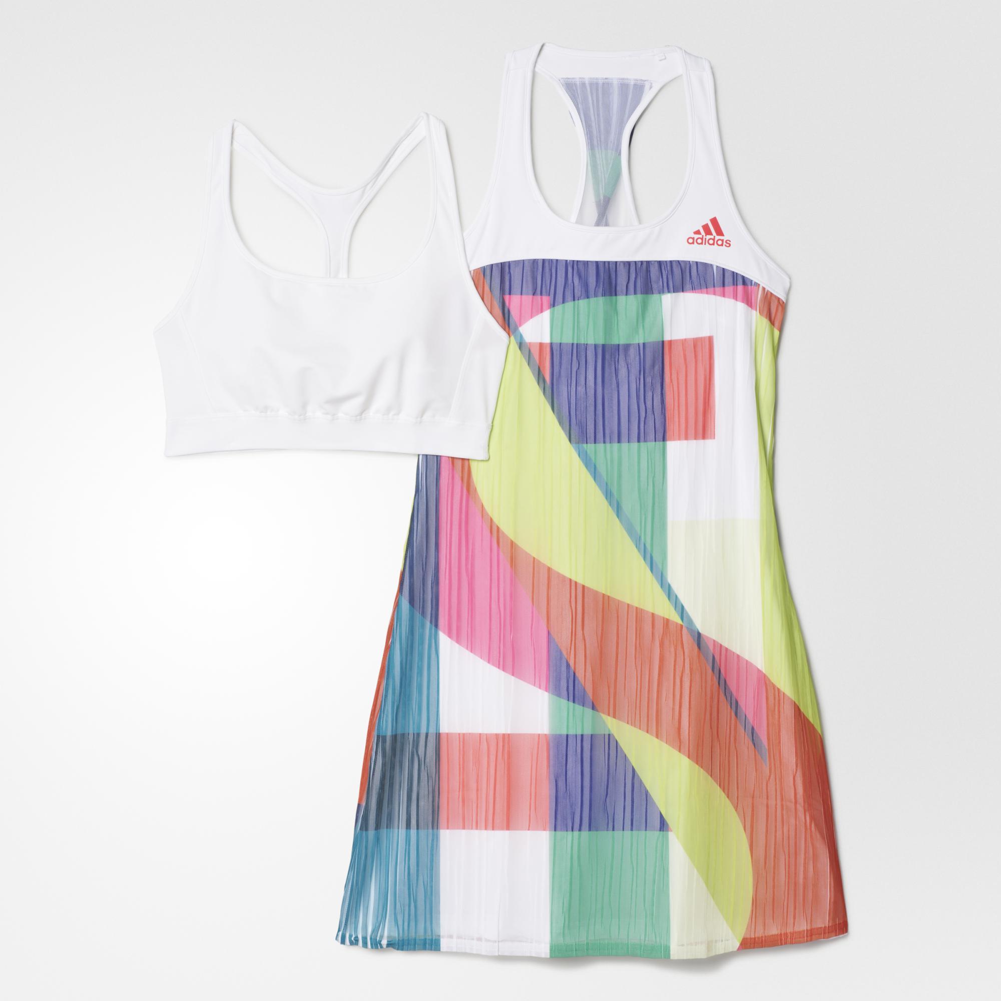 1106ec4a24a1 Adidas Womens Adizero Dress - White/Shock Red - Tennisnuts.com