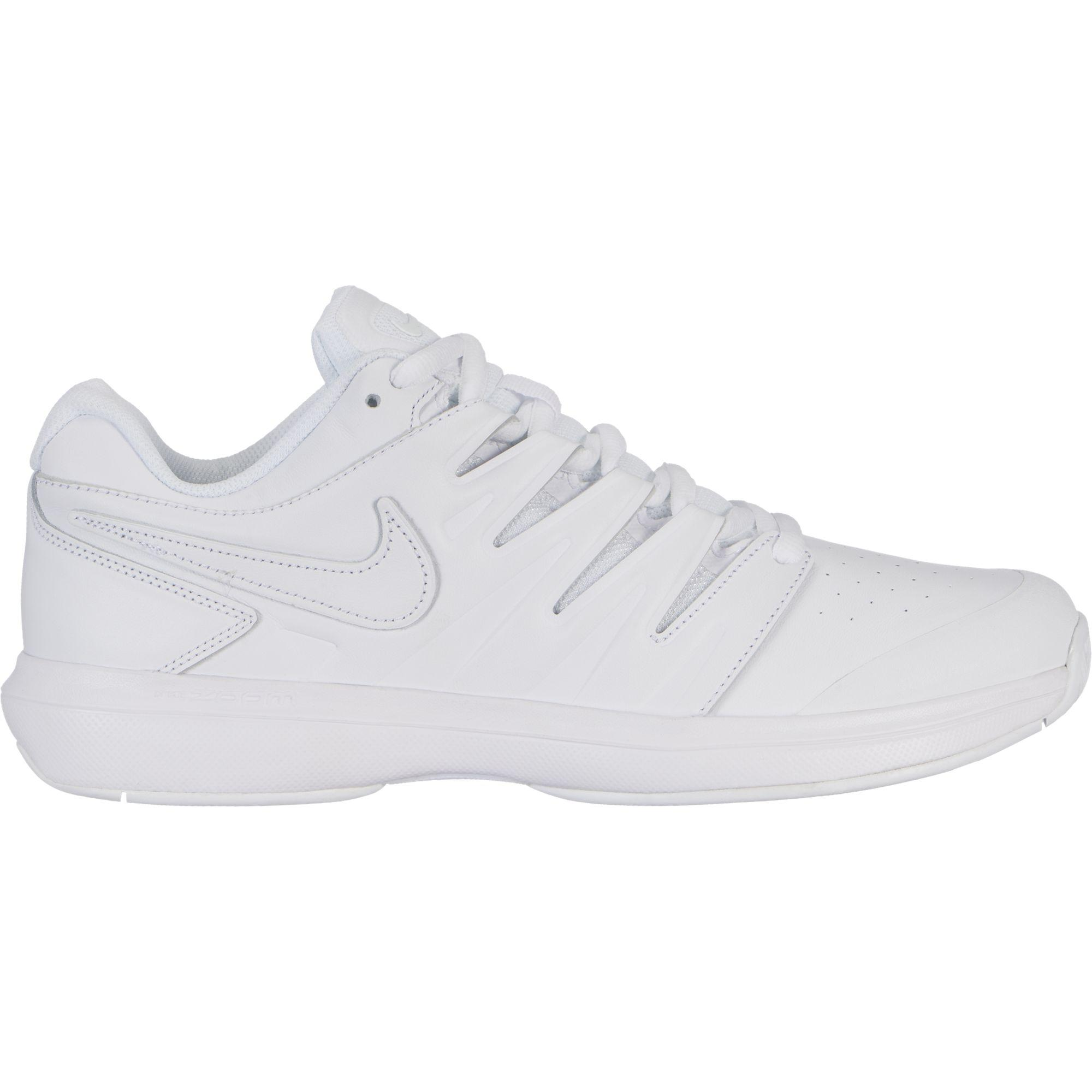 c5260b7b114 Nike Mens Air Zoom Prestige Tennis Shoes - White Black - Tennisnuts.com