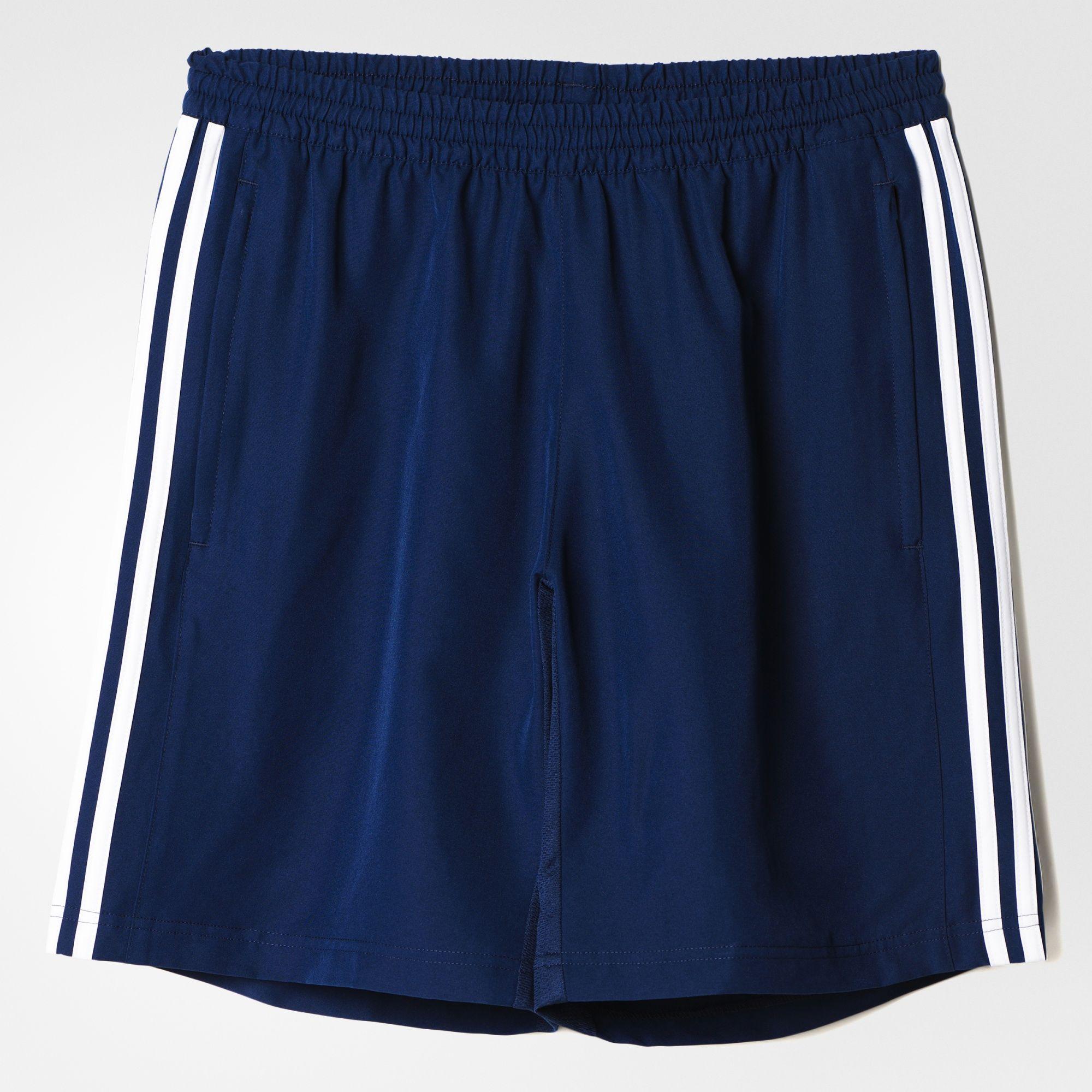 Adidas Mens T16 ClimaCool Shorts - Navy/White