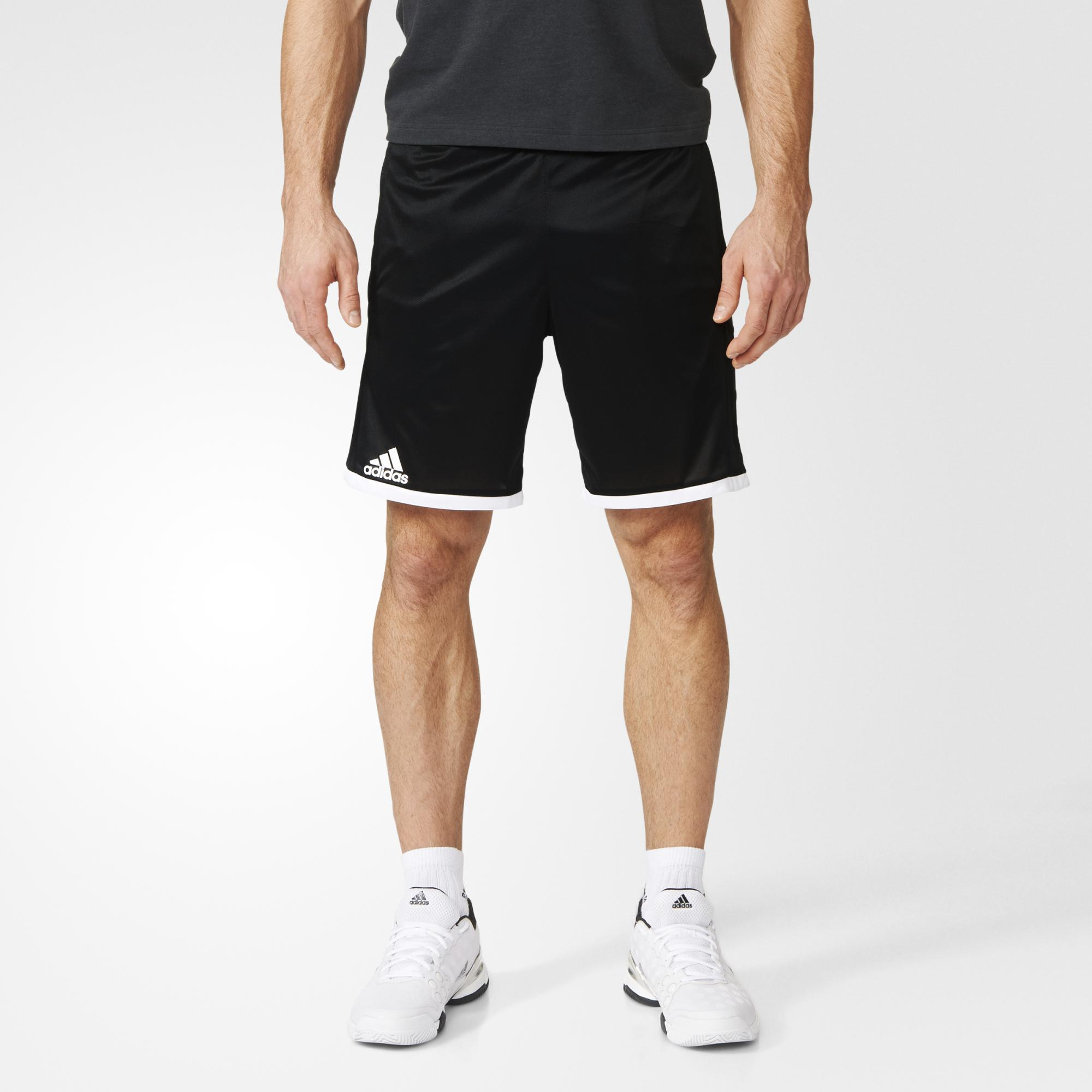 Adidas Mens Court Shorts Black Tennisnuts Com
