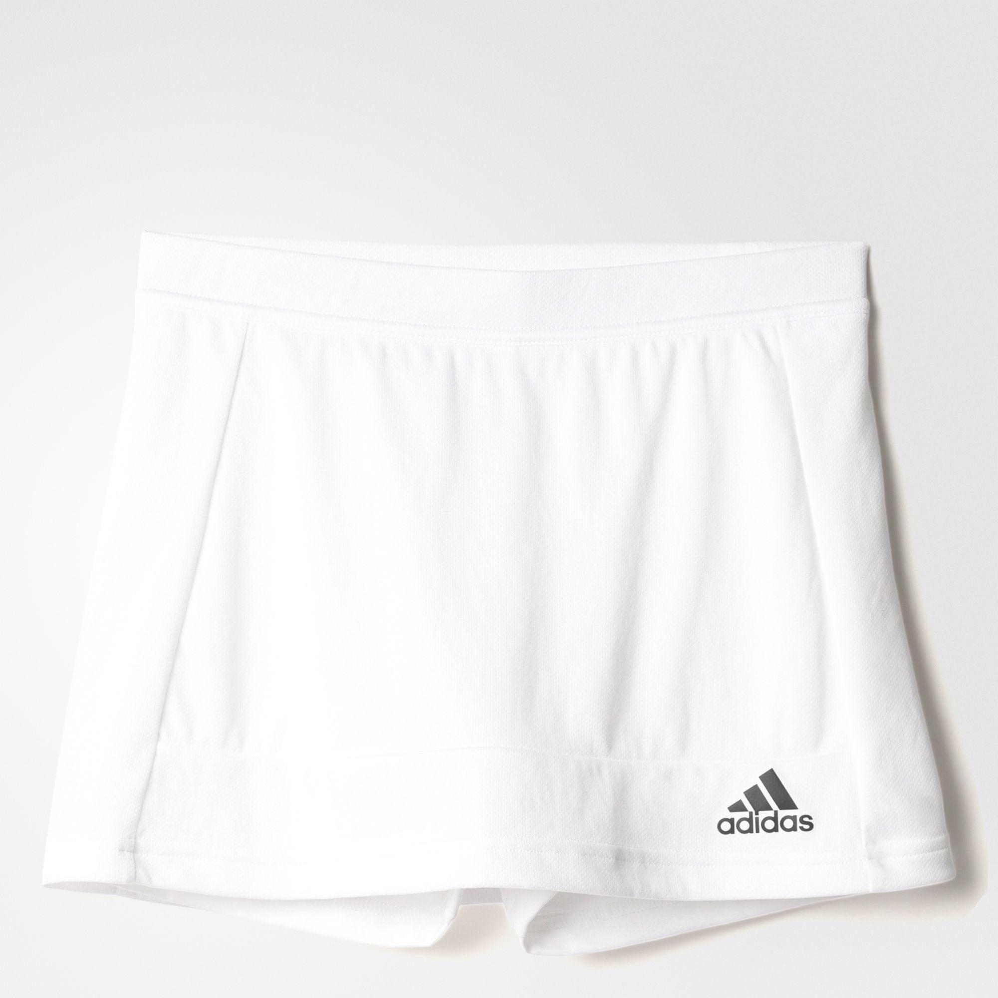 premium selection b644d 47327 Adidas Girls T16 Club Skort - White - Tennisnuts.com