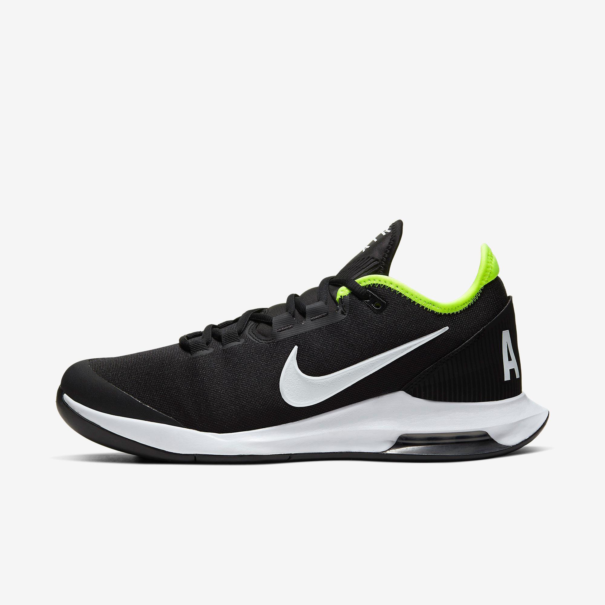 Nike Mens Air Max Wildcard Tennis Shoes - Black/White/Volt