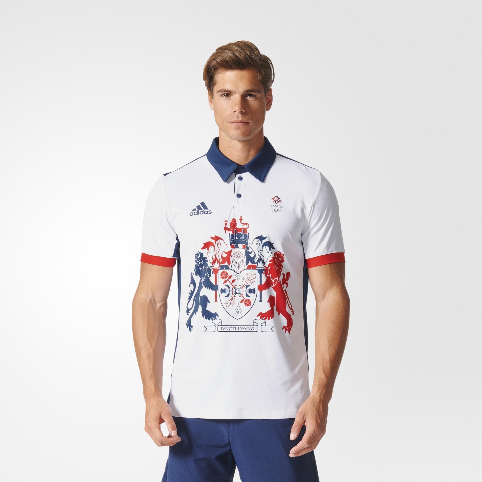 adidas team polo