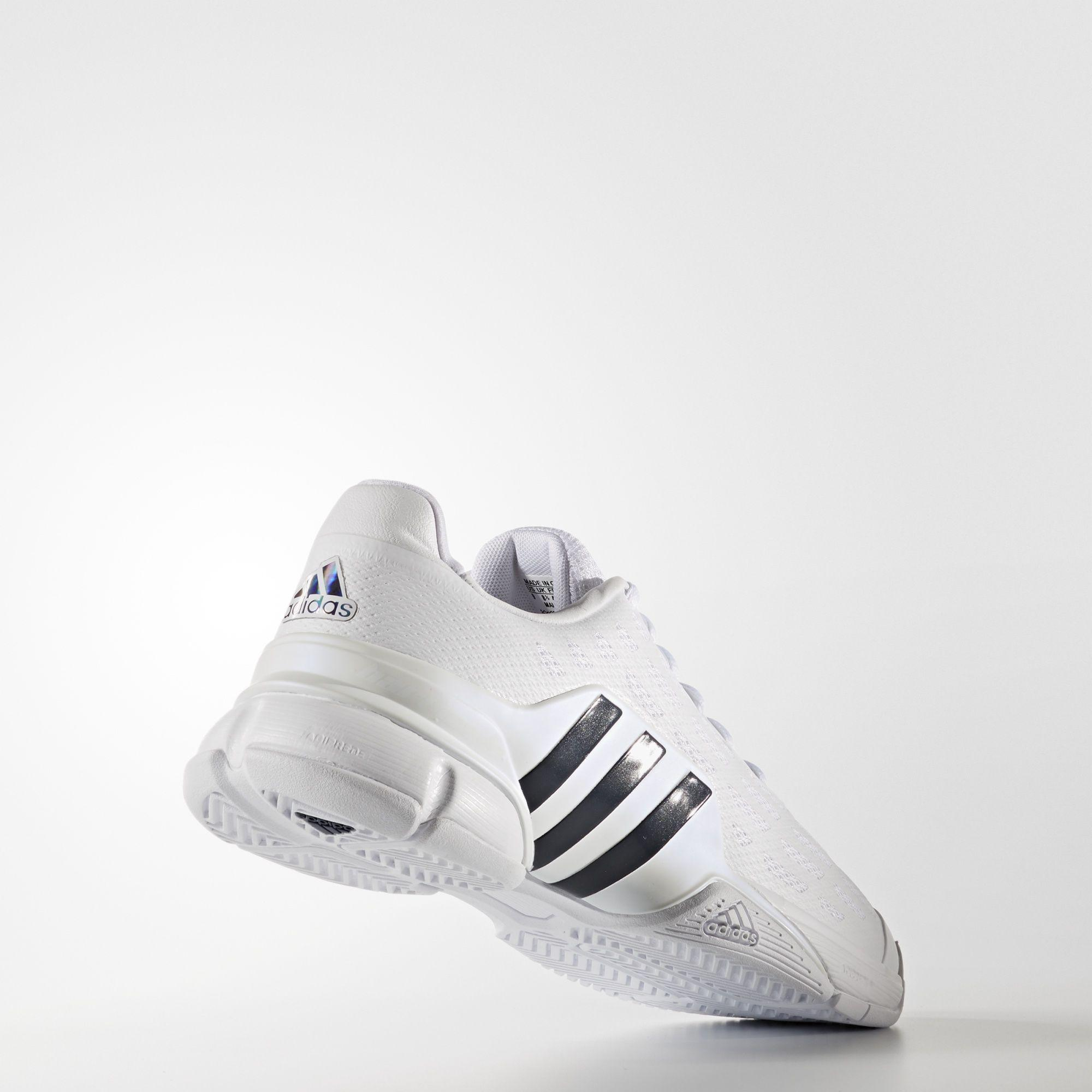 new product ec159 71641 Adidas Mens Barricade 2016 Tennis Shoes - White