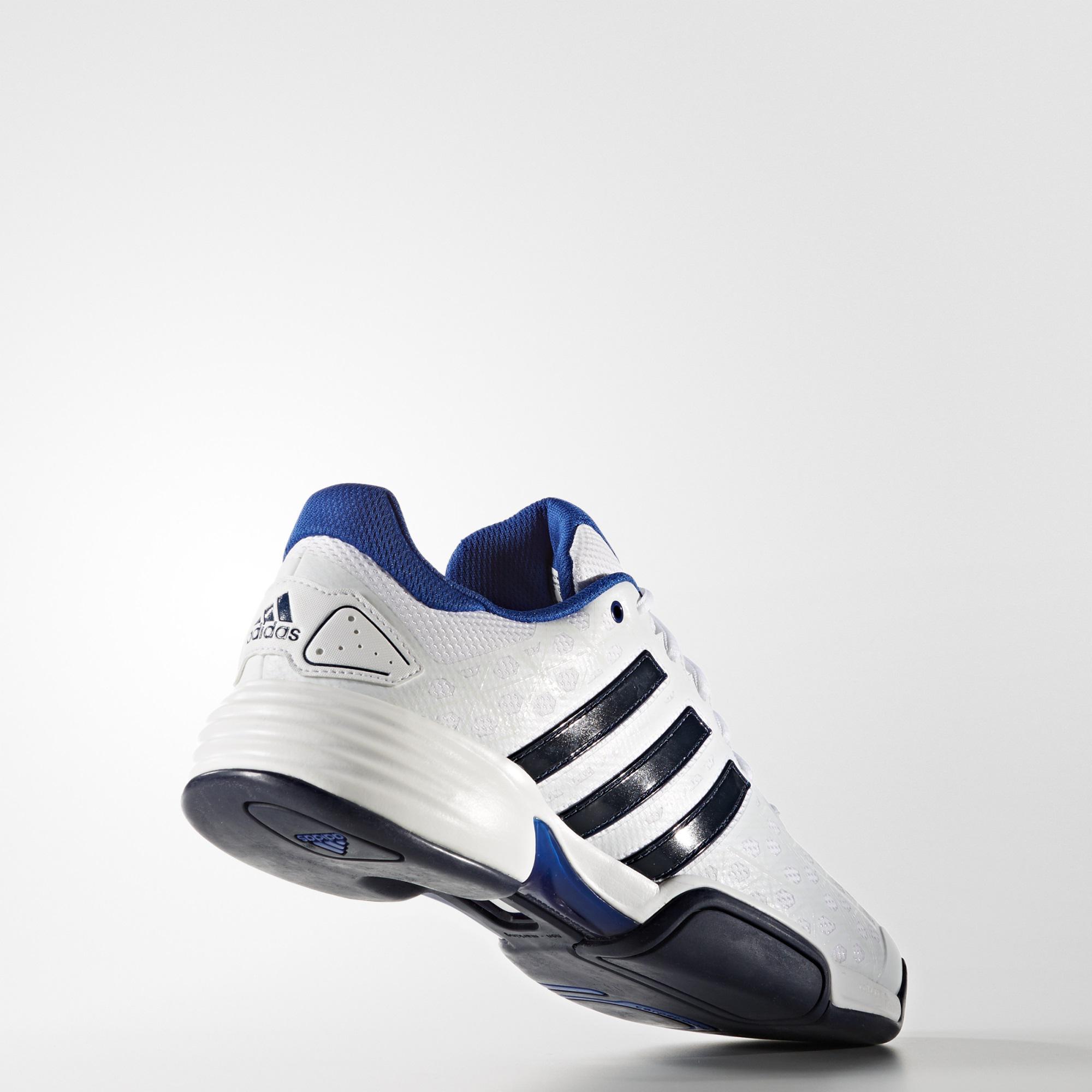buy online 41699 547ec Adidas Durable Limited Men Black Blue White Club Running Shoes