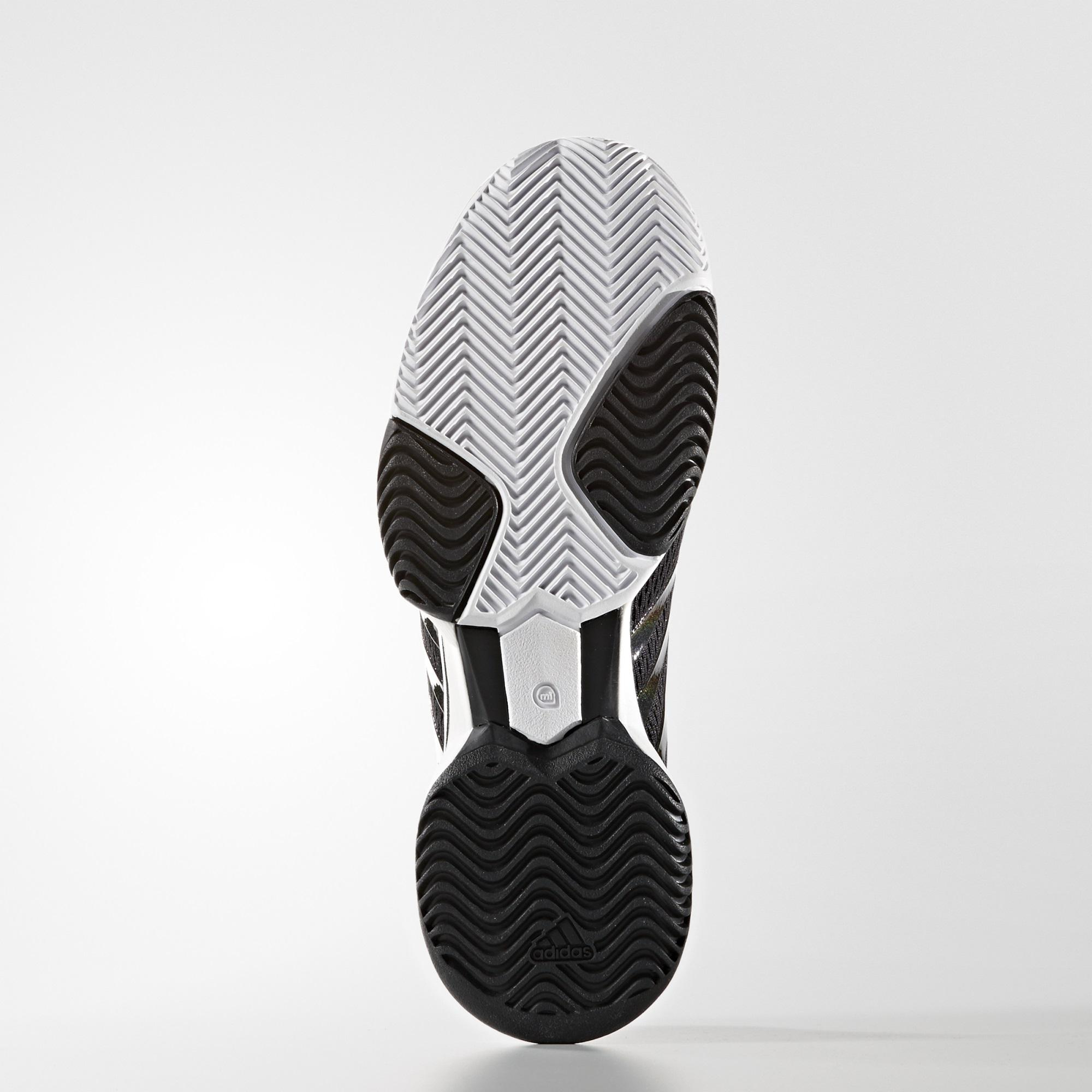 best service 40148 7dc50 Adidas Womens SMC Barricade 2016 Tennis Shoes - Black