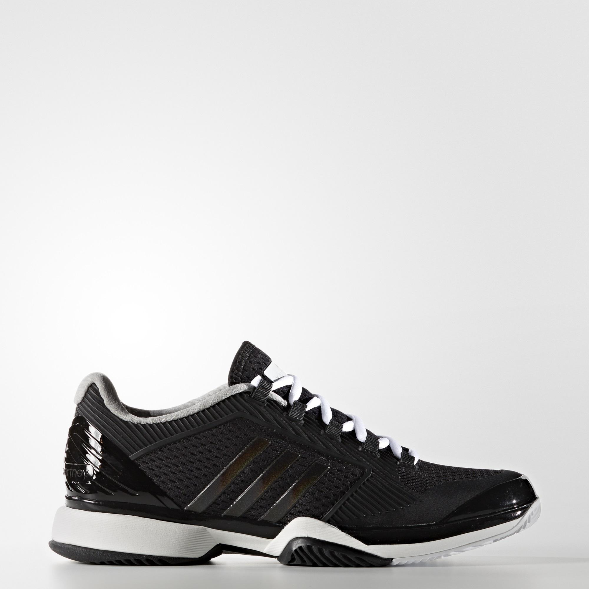 new product 63cfc 04e1d Adidas Womens SMC Barricade 2016 Tennis Shoes - Black - Tenn
