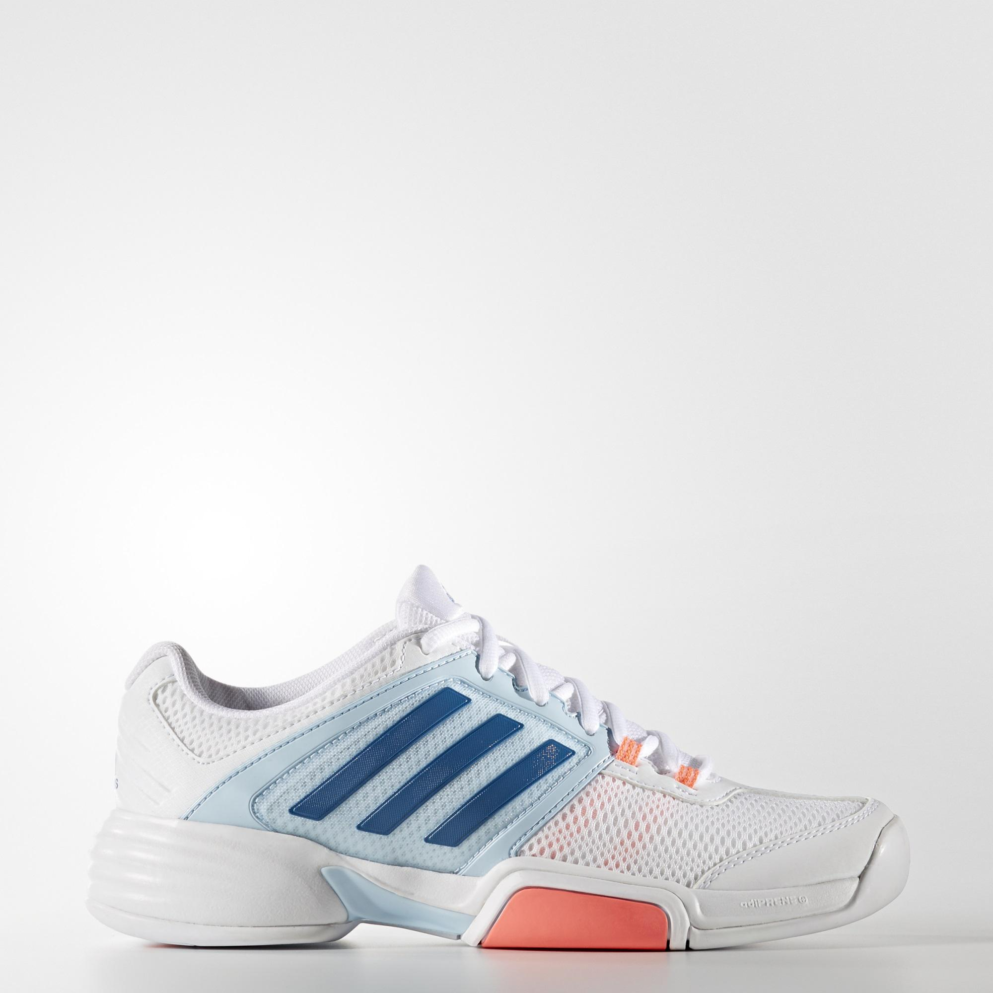 Adidas Womens Barricade Club Carpet Tennis Shoes - White Blue -  Tennisnuts.com 22734b274