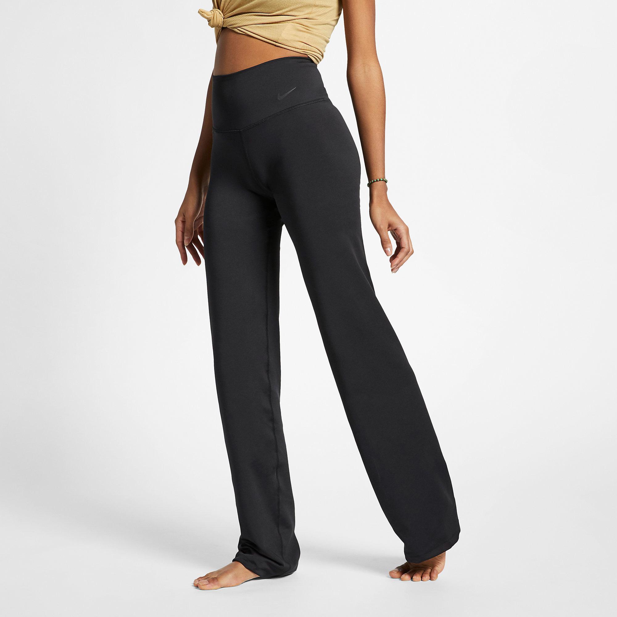 Nike Womens Power Yoga Pant Black Tennisnuts Com