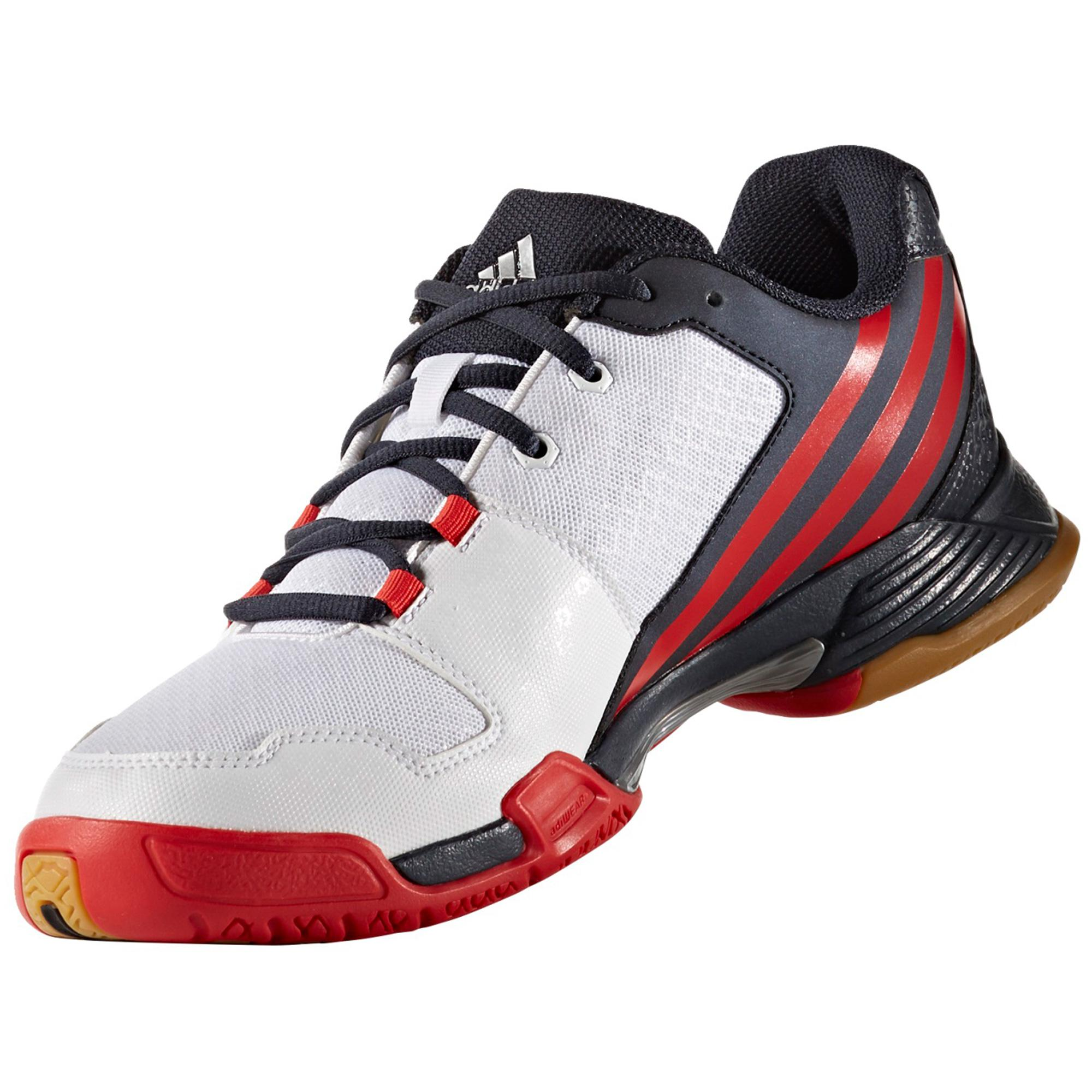 4 White Adidas Volley Indoor Team Mens Shoes wgagUt