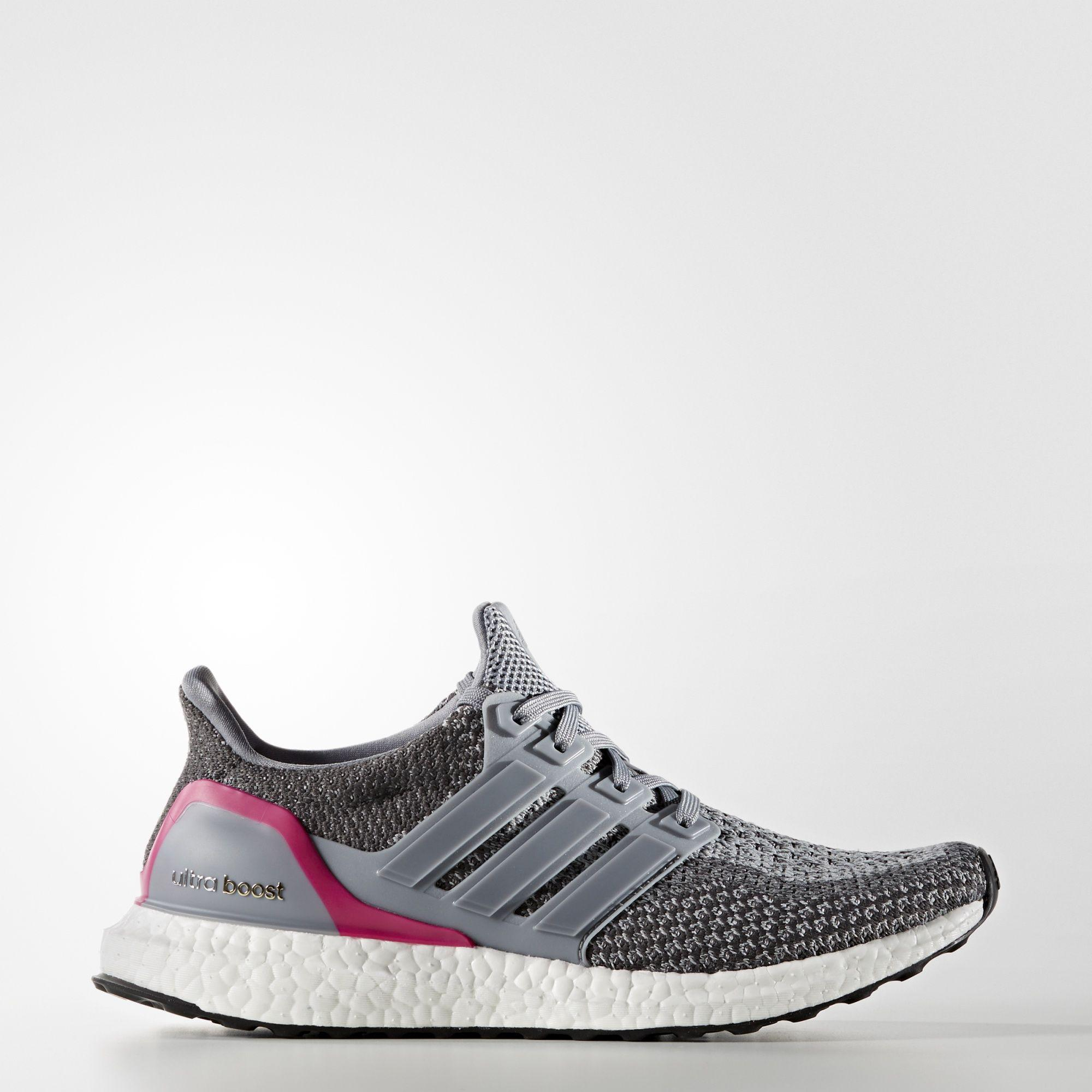 6c4b2c3e0 ... spain adidas womens ultra boost running shoes grey pink 1e83c fb418