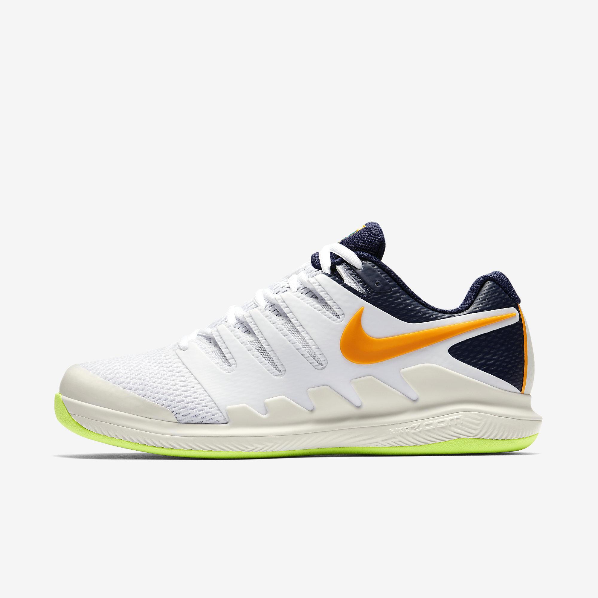 244676fa2534 Nike Mens Air Zoom Vapor X Carpet Tennis Shoes - Phantom Blackened Blue  White - Tennisnuts.com