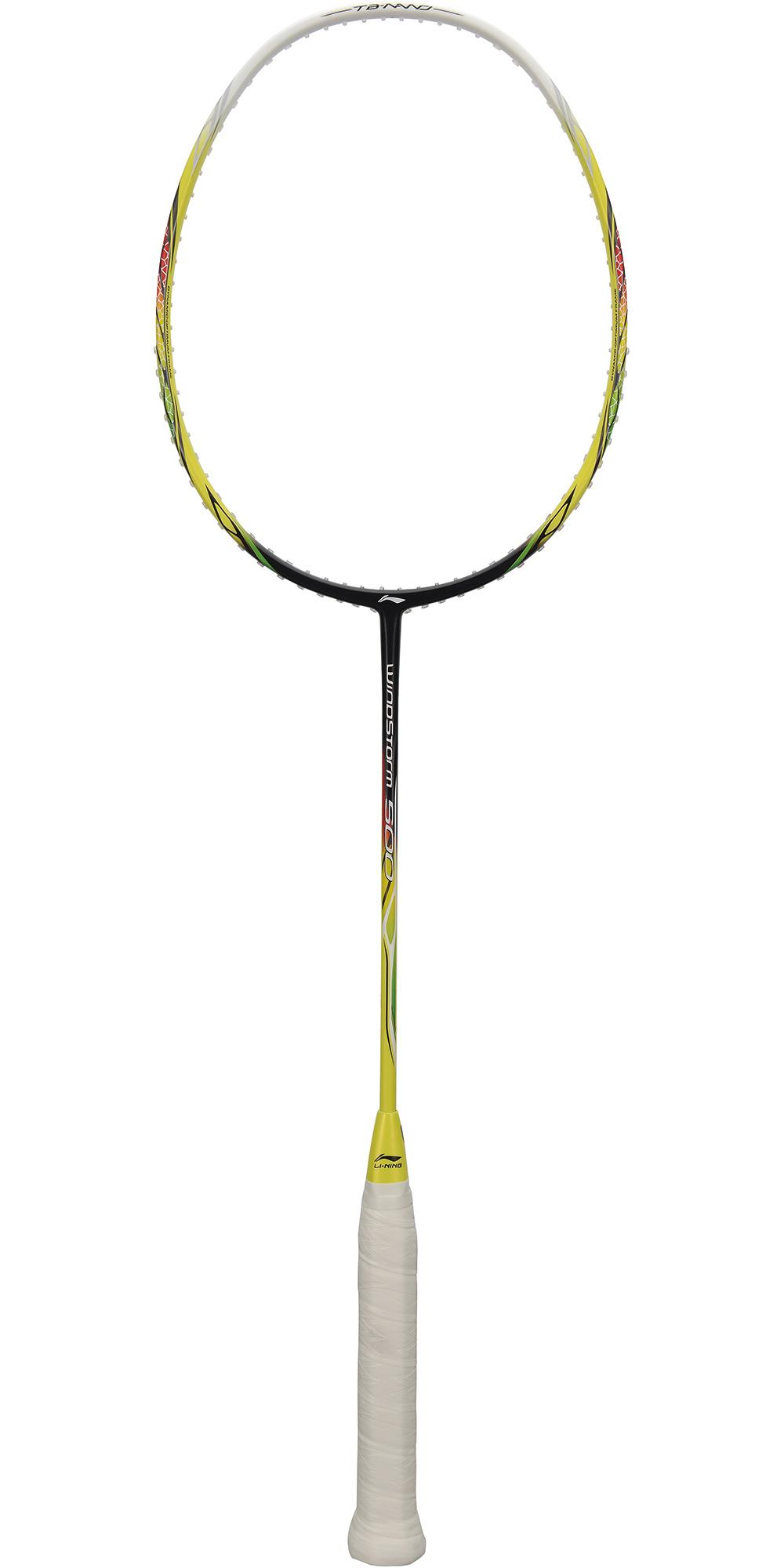 e030b20d9 Li-Ning Windstorm 500 Badminton Racket - Yellow - Tennisnuts.com