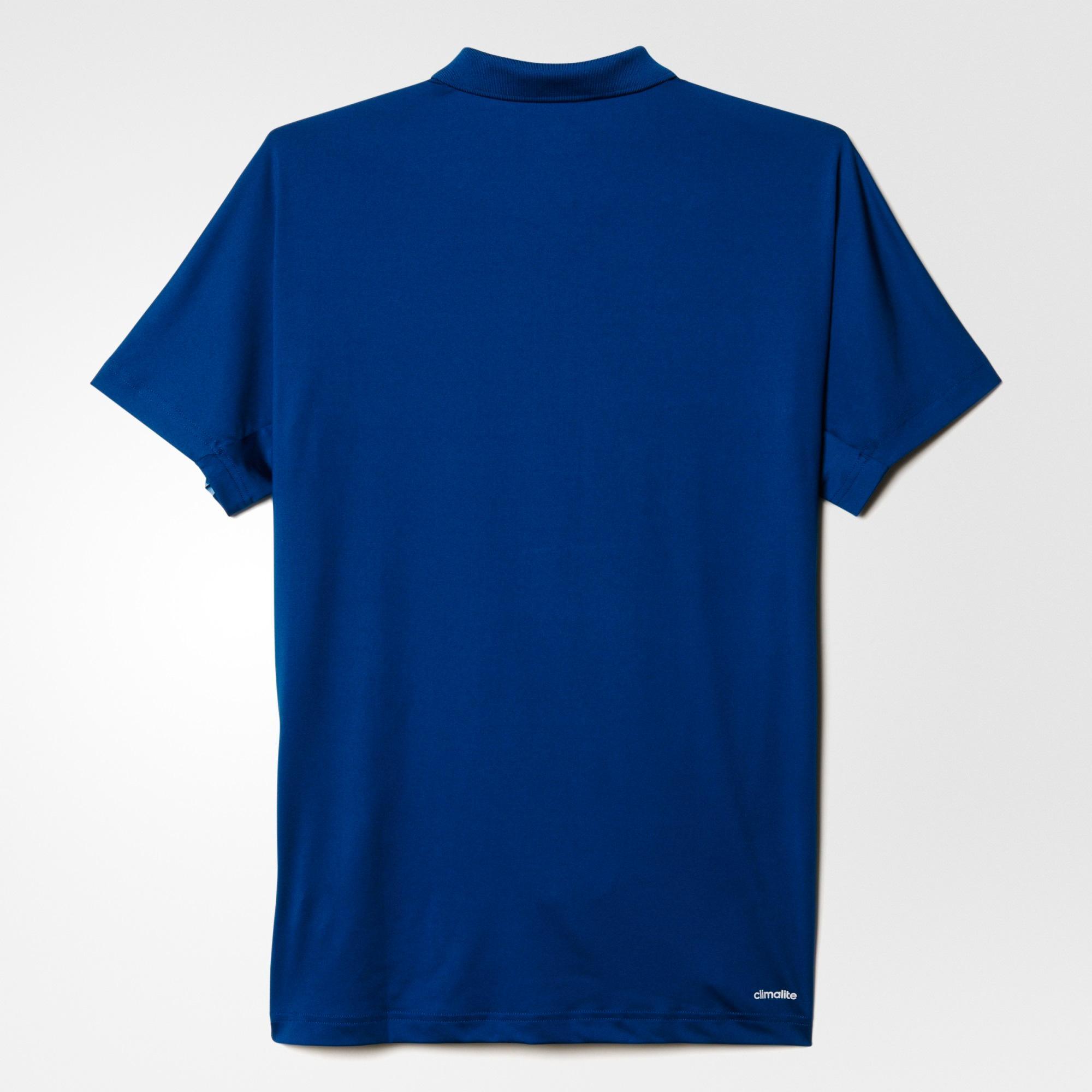 5f7d07bb3 Adidas Mens Climalite Essentials Polo Shirt