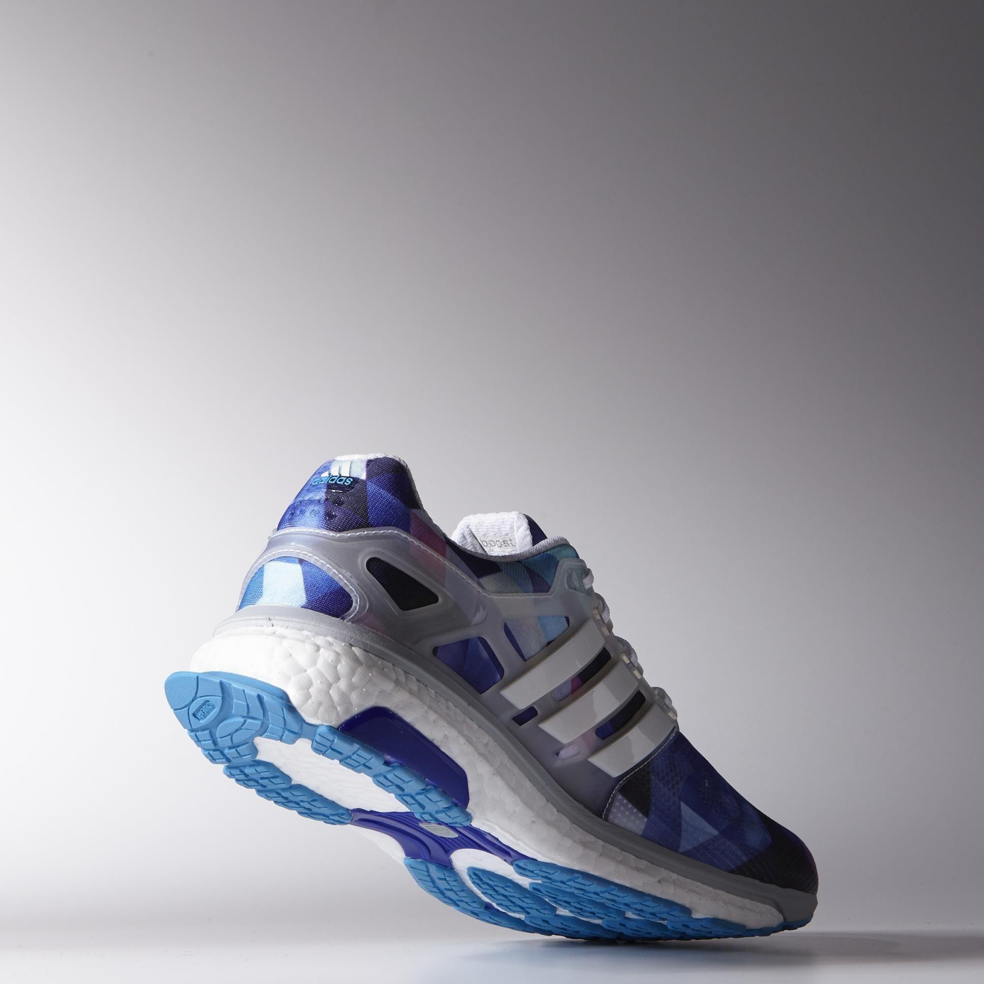 Adidas hombre  Energy Boost ESM zapatillas Blanco / Solar Azul