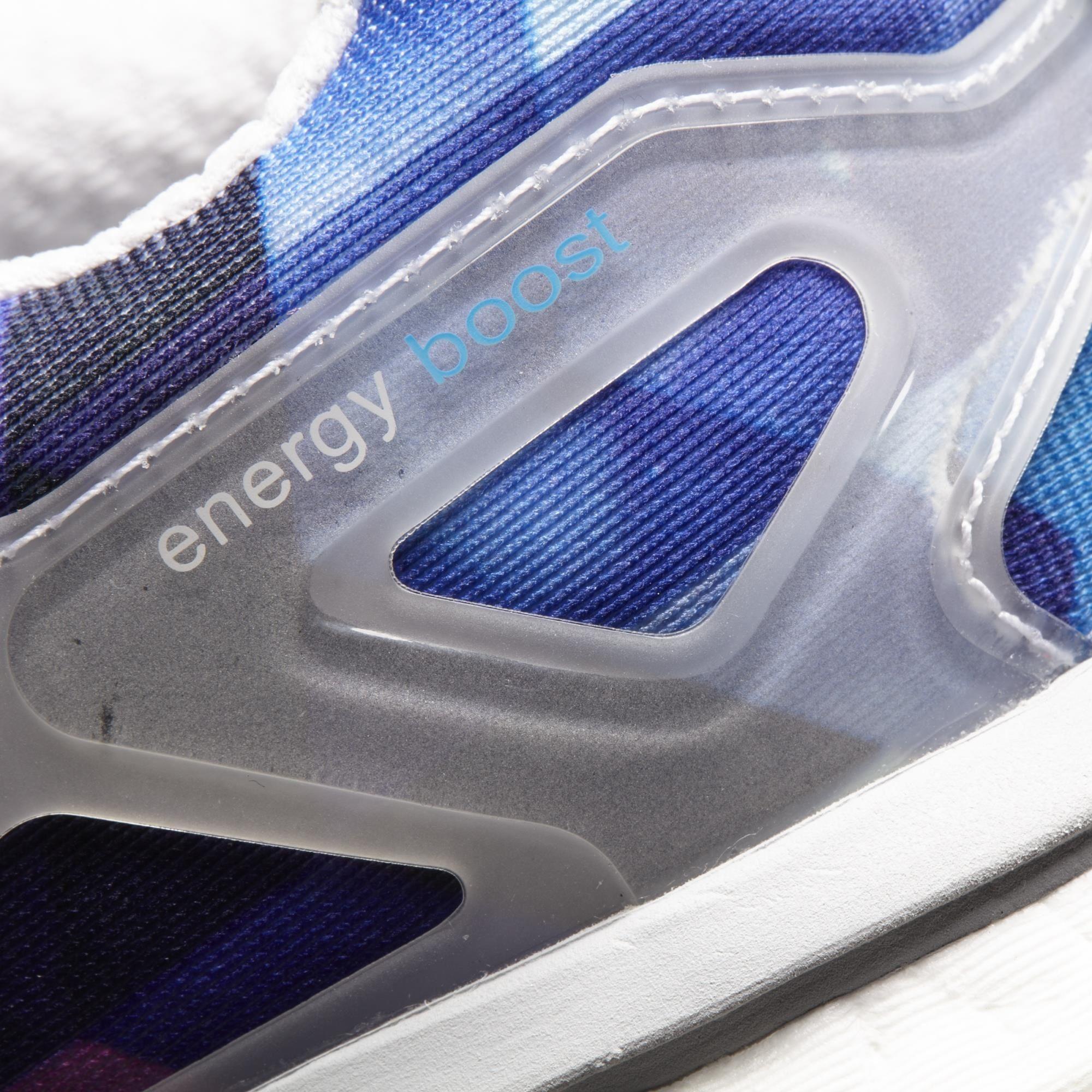 Adidas Mens Energy Boost 2.0 ESM Running Shoes WhiteSolar