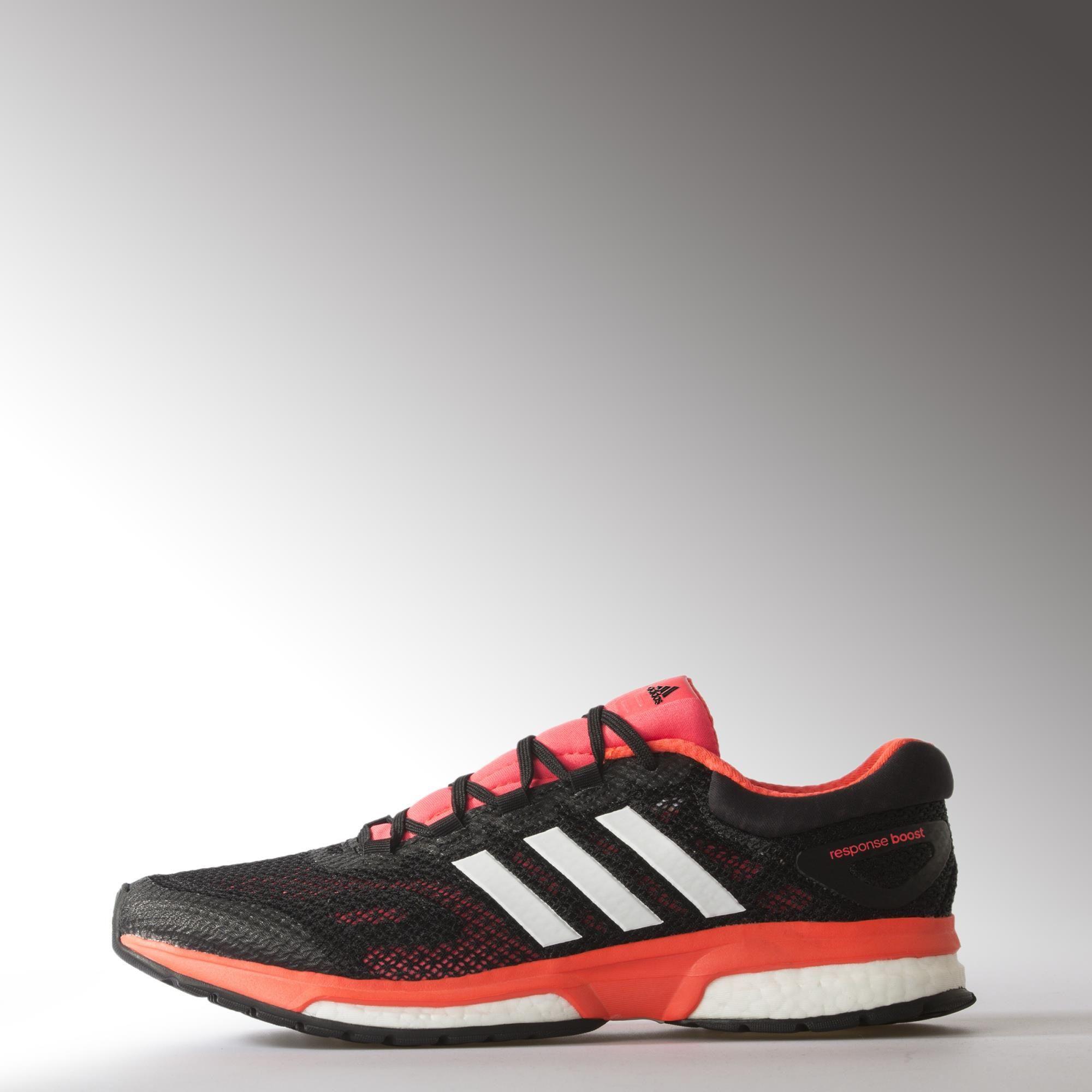 Adidas Mens Response Boost Running Shoes - Solar Red - Tennisnuts.com d00e68930