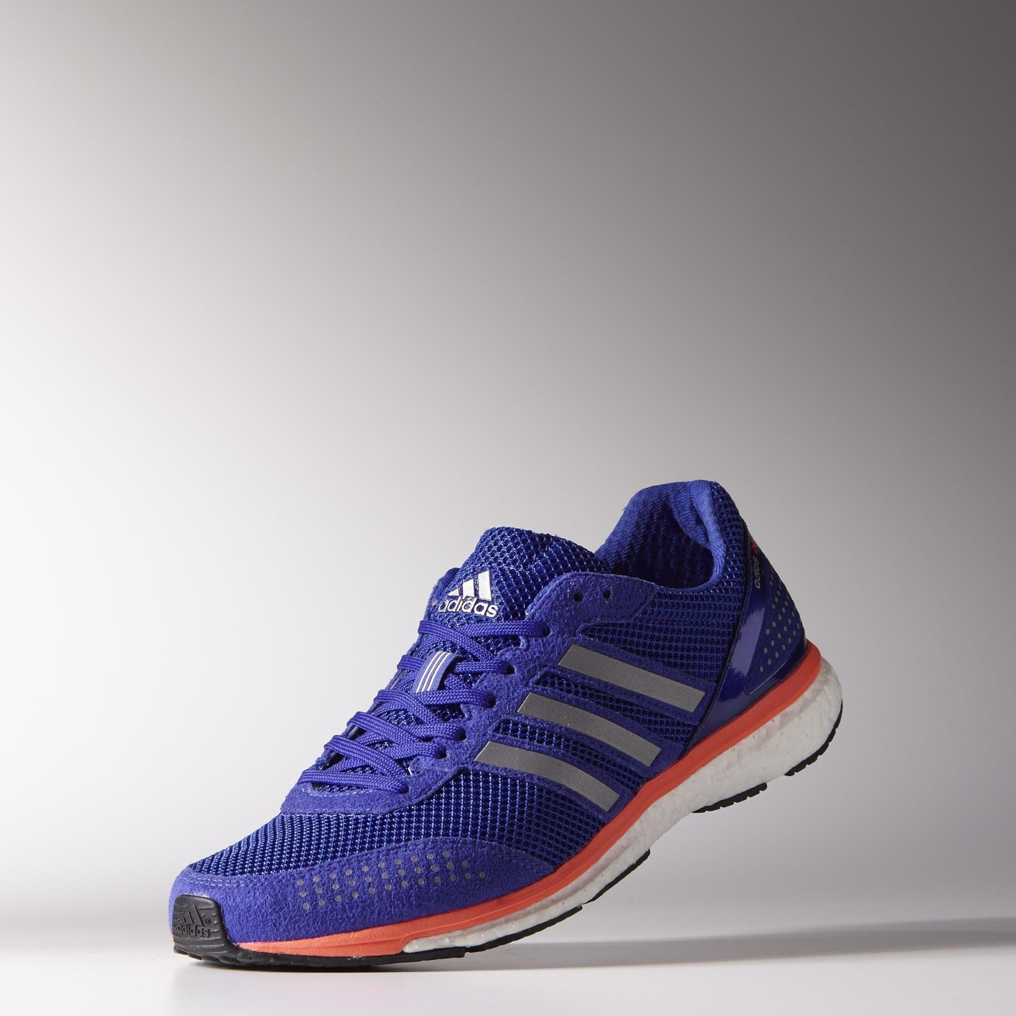 Adidas Mens Adizero Adios Boost 2.0 Running Shoes - Night