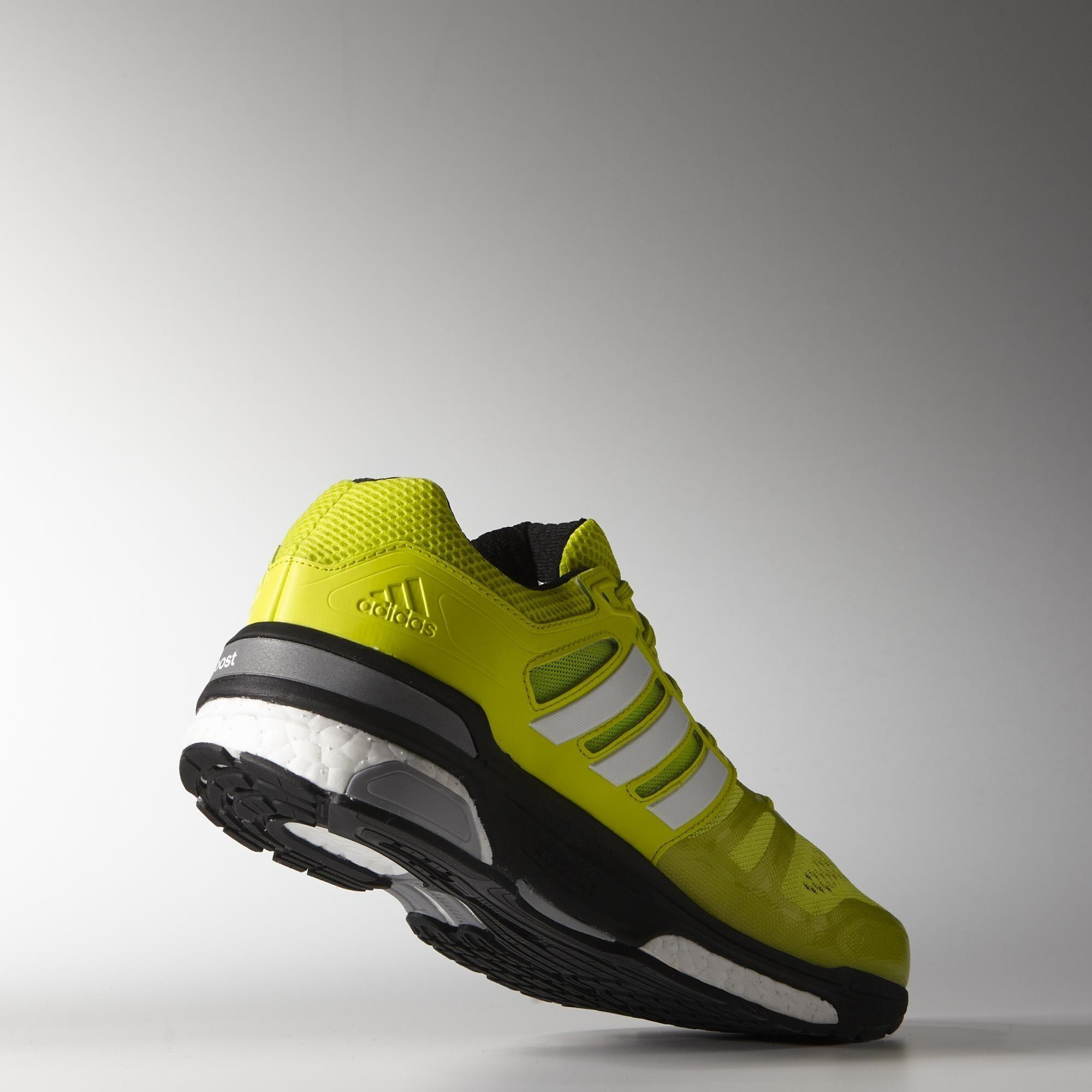 7676dc342 Adidas Mens Supernova Sequence Boost 7 Running Shoes - Yellow White ...