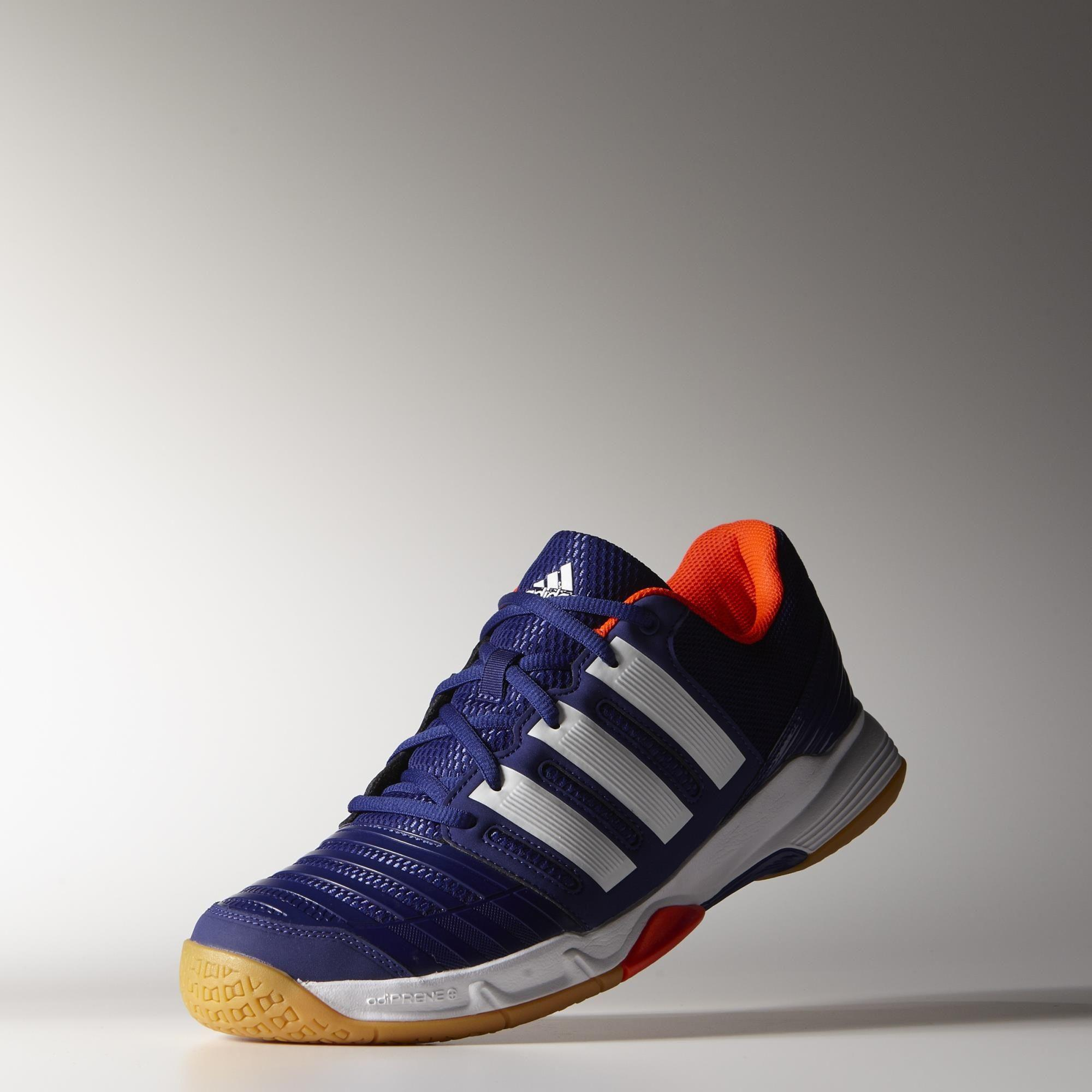 b07b8223b017 Adidas Mens Court Stabil 11 Indoor Shoes - Amazon Purple White ...