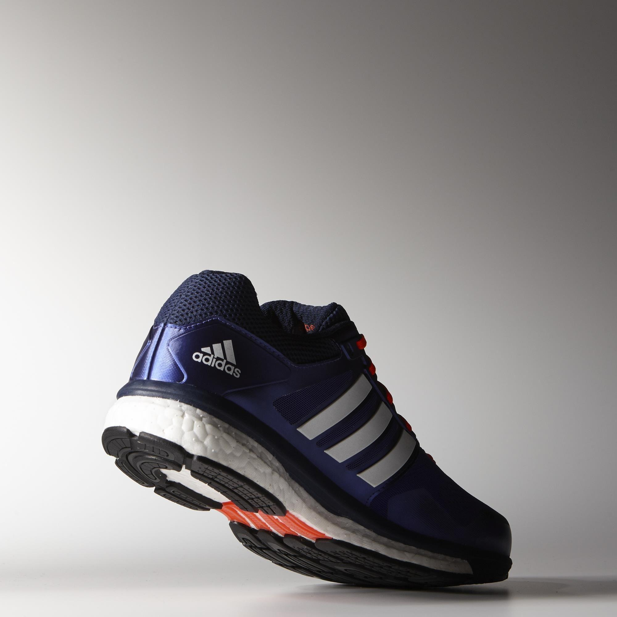 Adidas Mens Supernova Glide 7 Running Shoes - Purple/White ...
