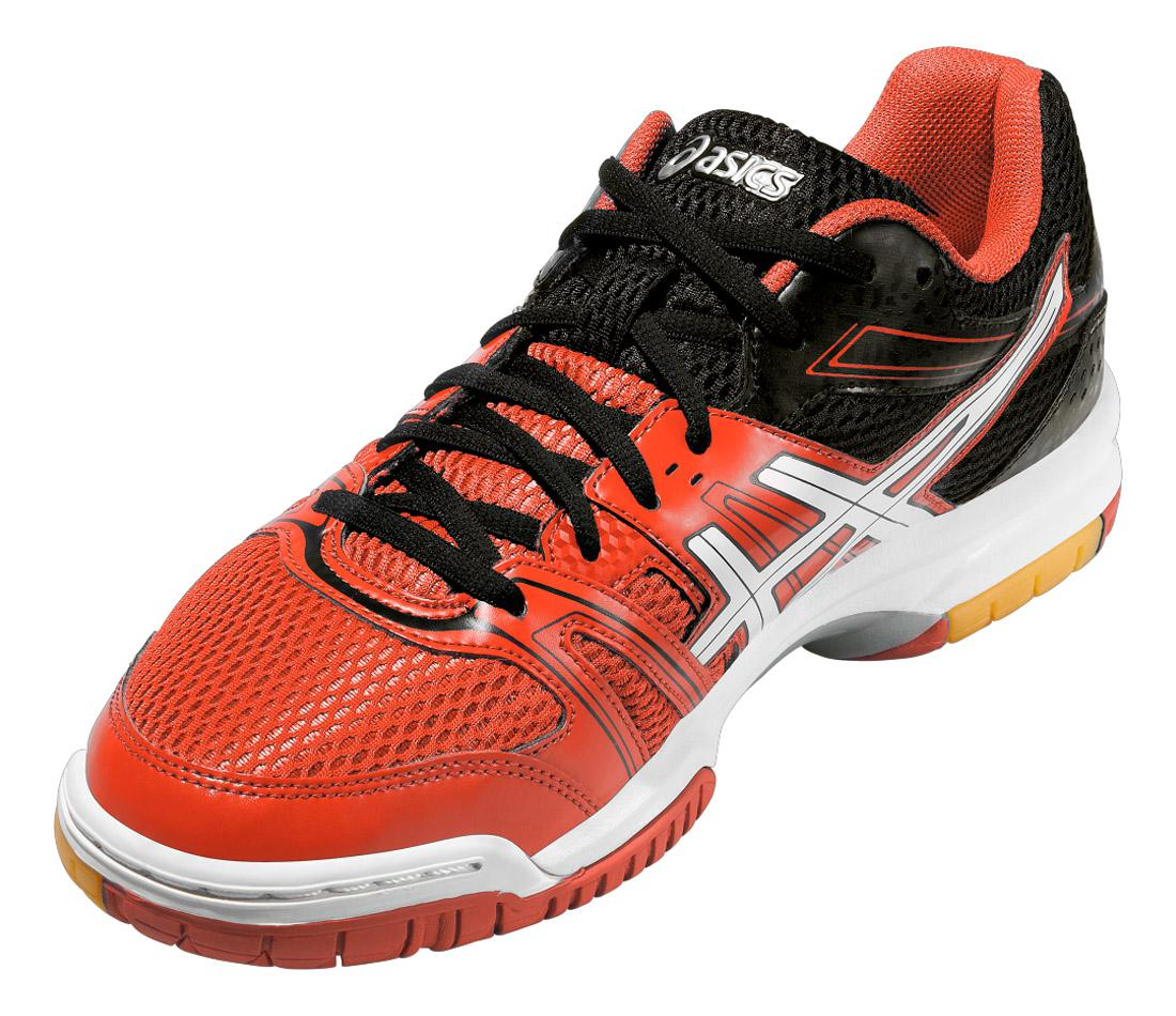 Asics Mens GEL-Rocket 7 Indoor Court Shoes - Cherry Tomato Red ... 20a2106f370f8