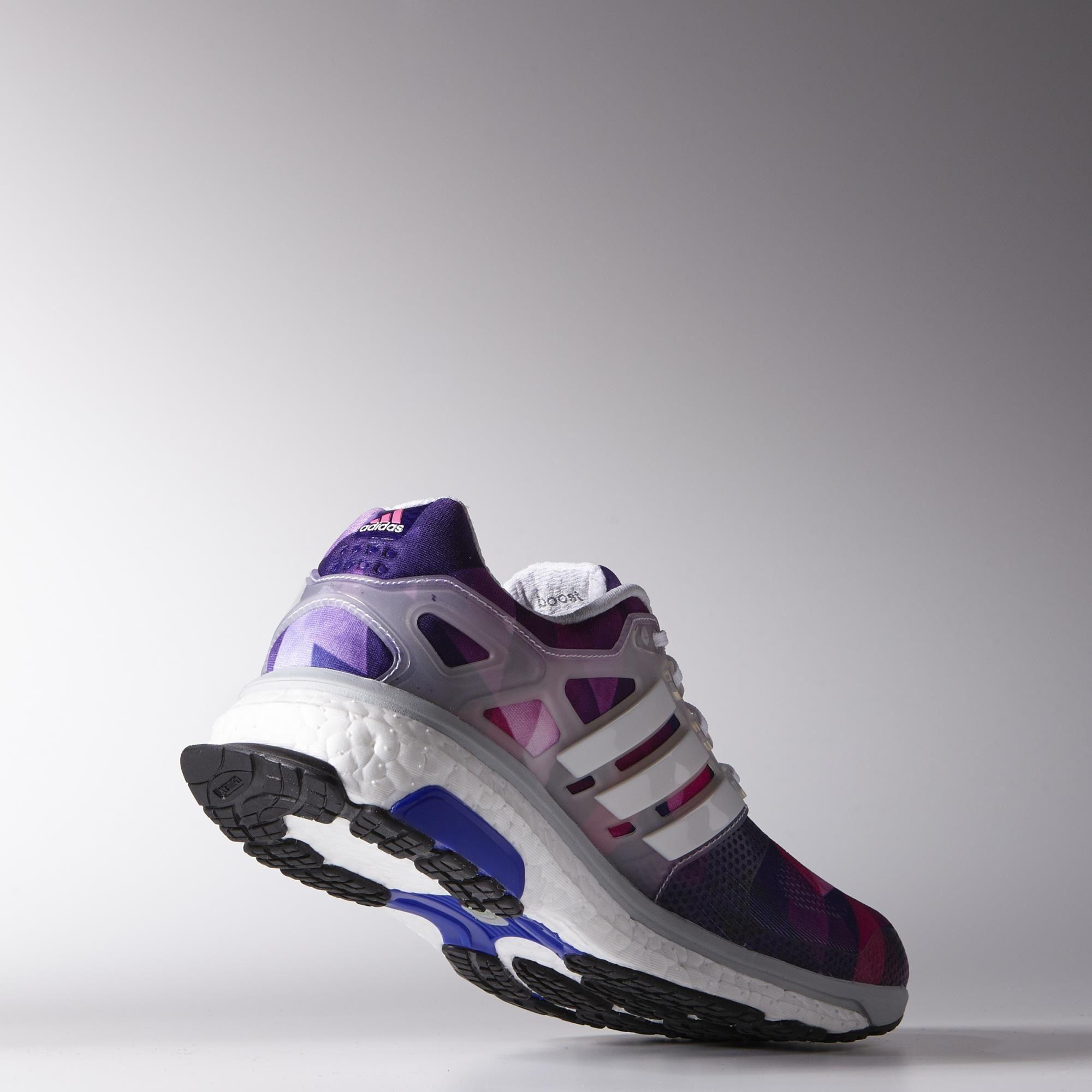 Adidas Womens Energy Boost ESM Running Shoes - White ...