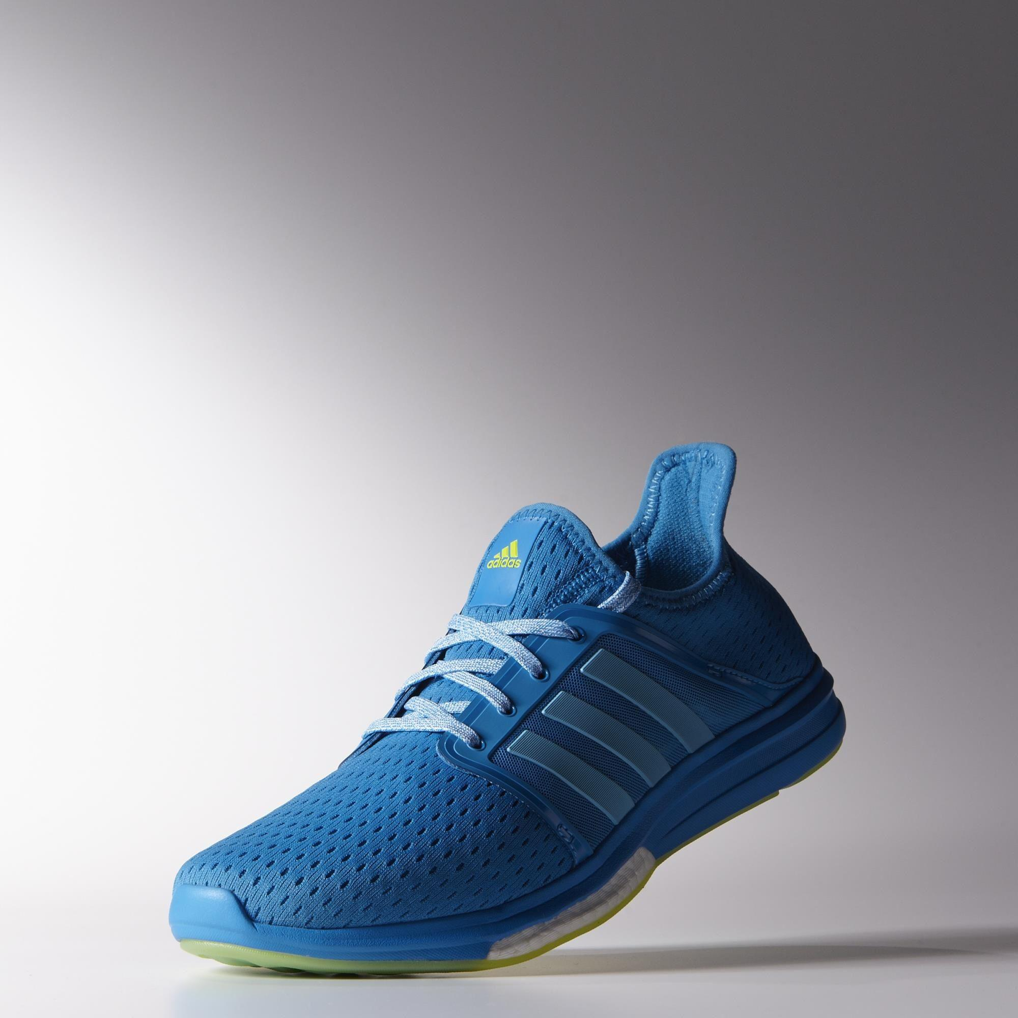 promo code 1d922 4d71b Adidas Mens Climachill Sonic Boost Running Shoes - Solar Blue