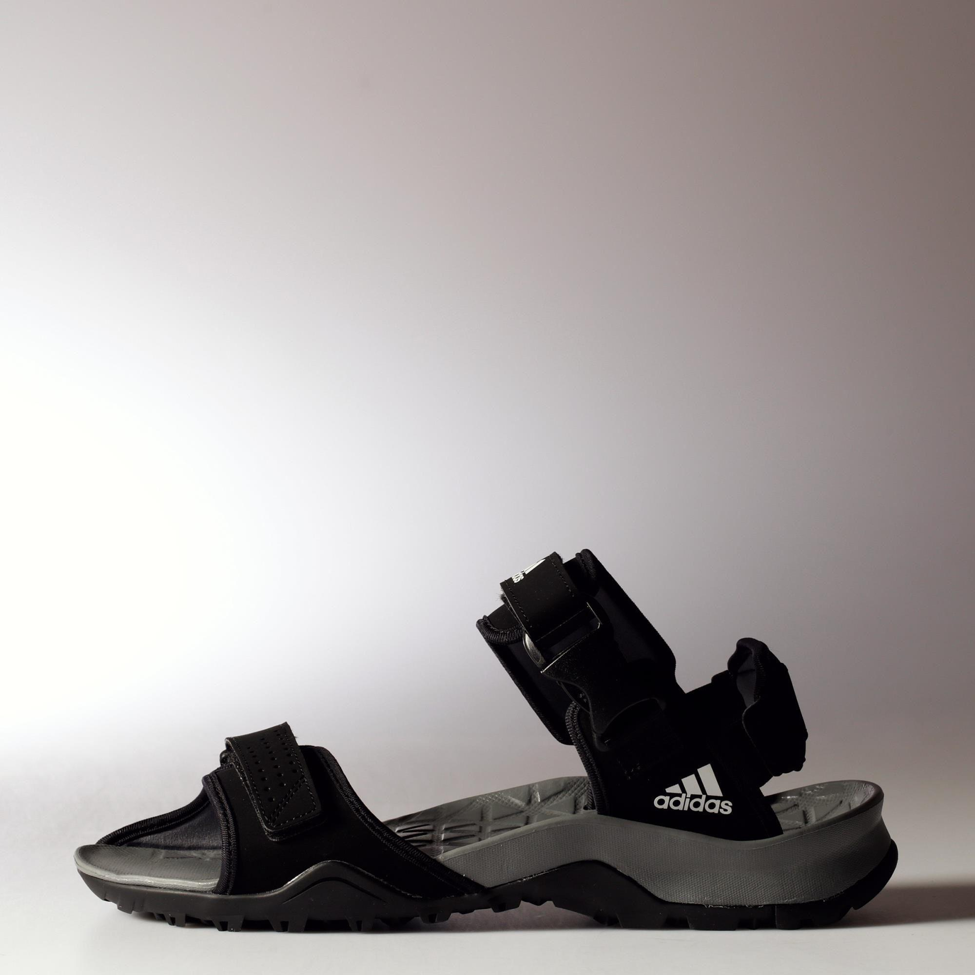 702a778adb13 Adidas Mens Cyprex Ultra Sandal II - Core Black Vista Grey - Tennisnuts.com