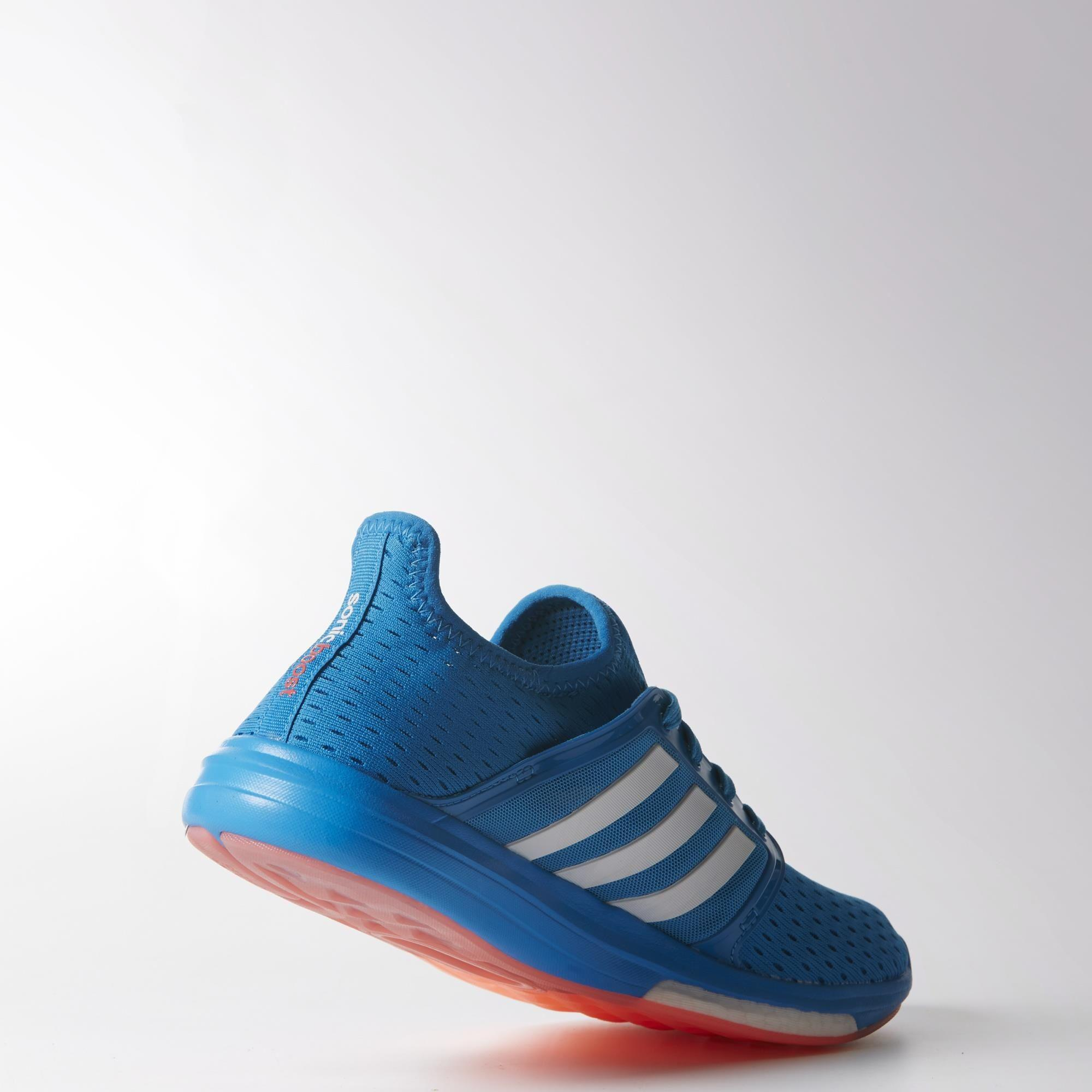 Adidas Womens Climachill Sonic Boost Running Shoes - Solar Blue ...