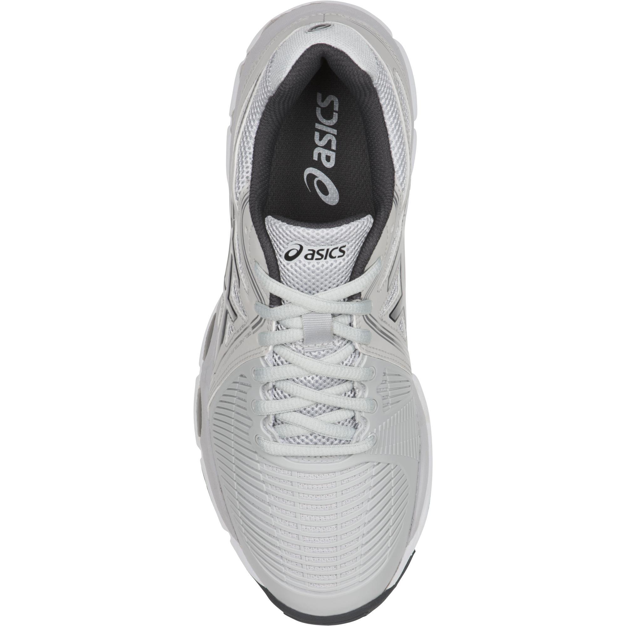 Asics Womens GEL-Netburner Ballistic Shoes - Dark Grey - Tennisnuts.com 9400630cb8d1