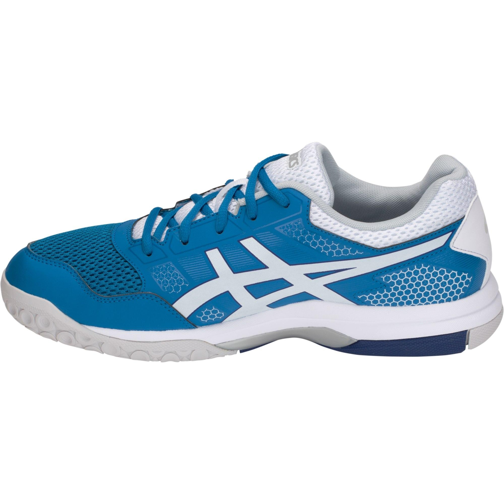 Asics Mens GEL-Rocket 8 Indoor Court Shoes - Race Blue/White