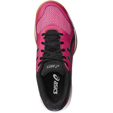 bde892d2608a Asics Womens GEL-Rocket 8 Indoor Court Shoes - Rouge Red Black ...