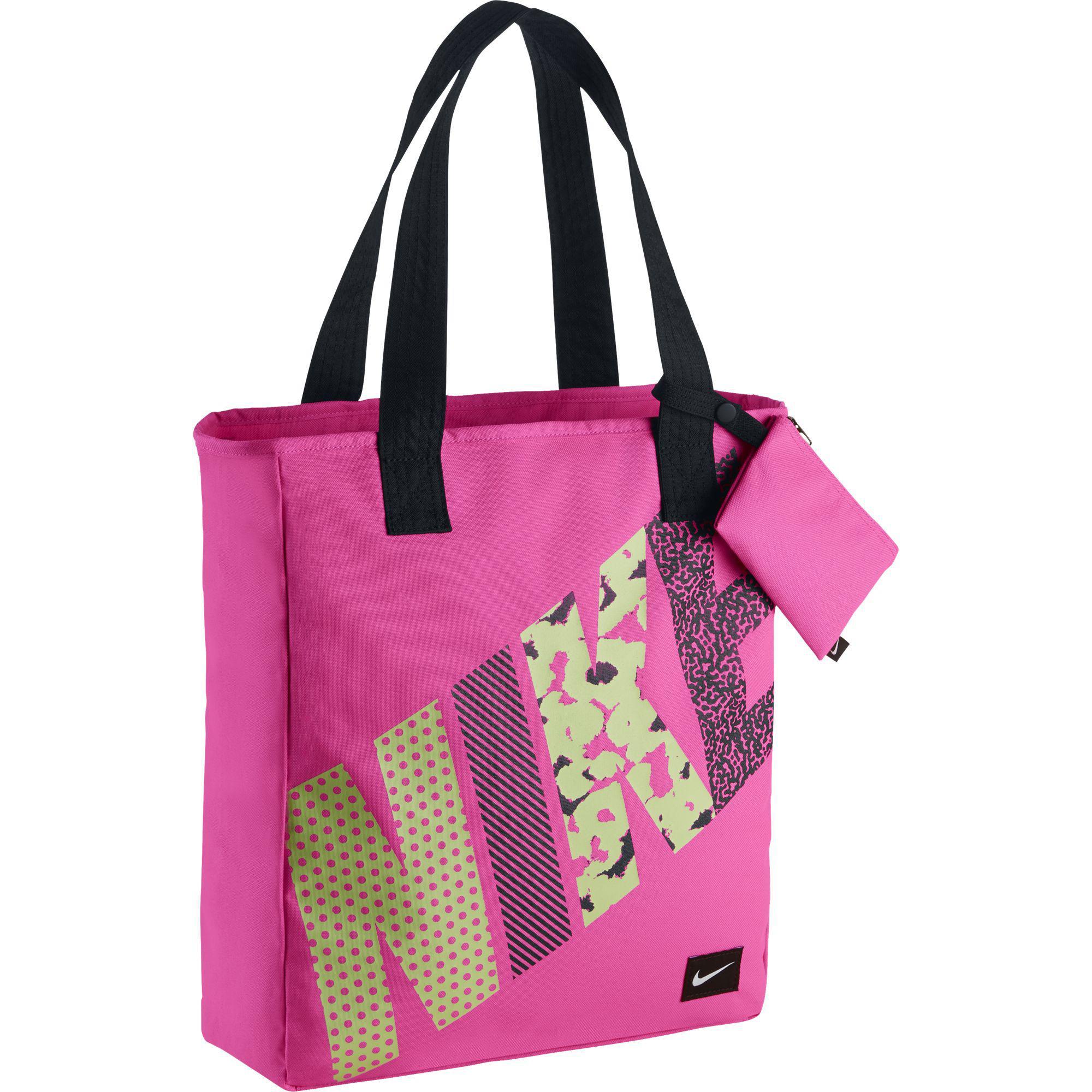 2a87b867dc5d Nike Rowena Kids Tote Bag - Pink Pow Black - Tennisnuts.com