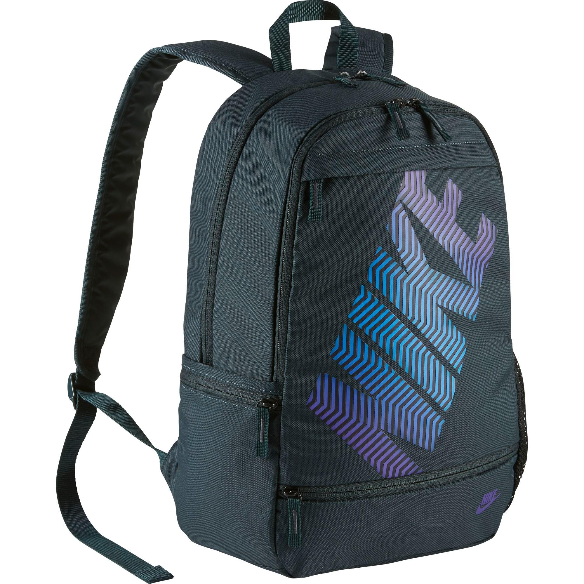 8c5a1886f8 Nike Classic Line Backpack - Black/Blue - Tennisnuts.com
