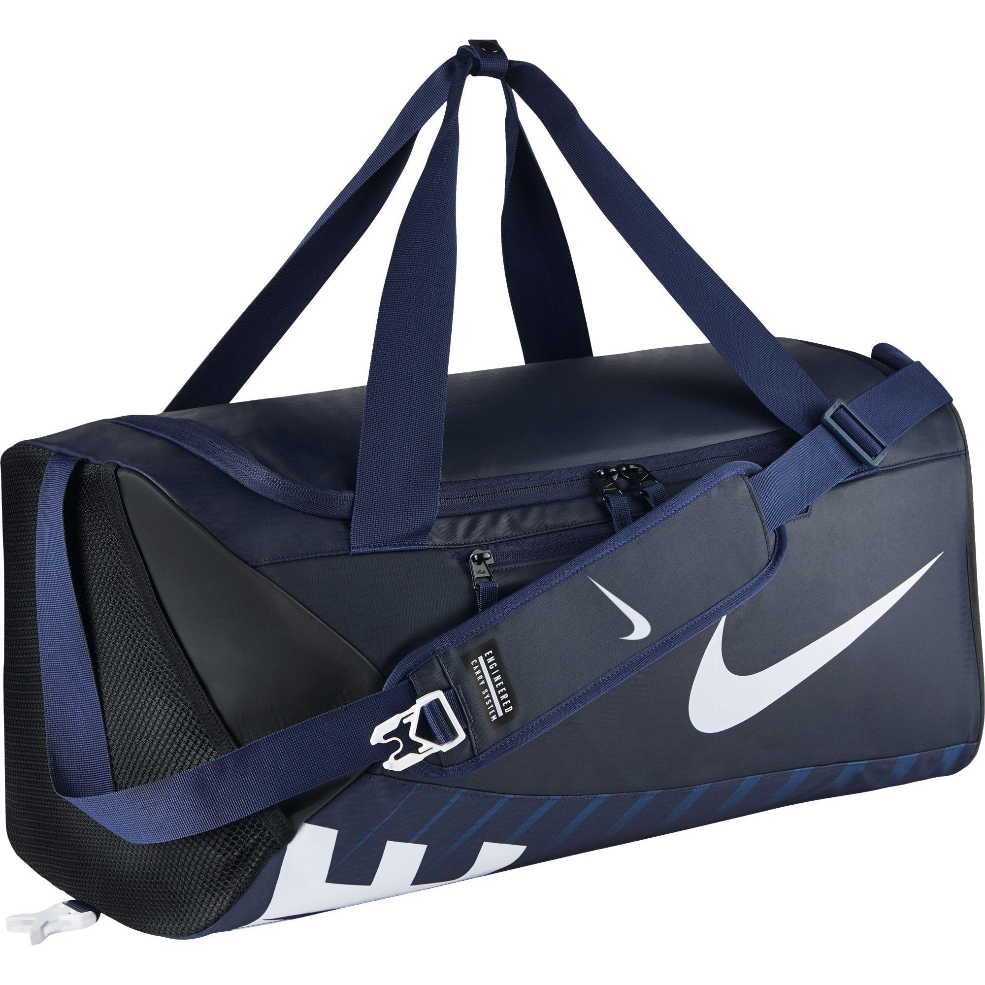 79deec77687 Nike Alpha Adapt Cross Body Medium Duffel Bag - Midnight Navy -  Tennisnuts.com