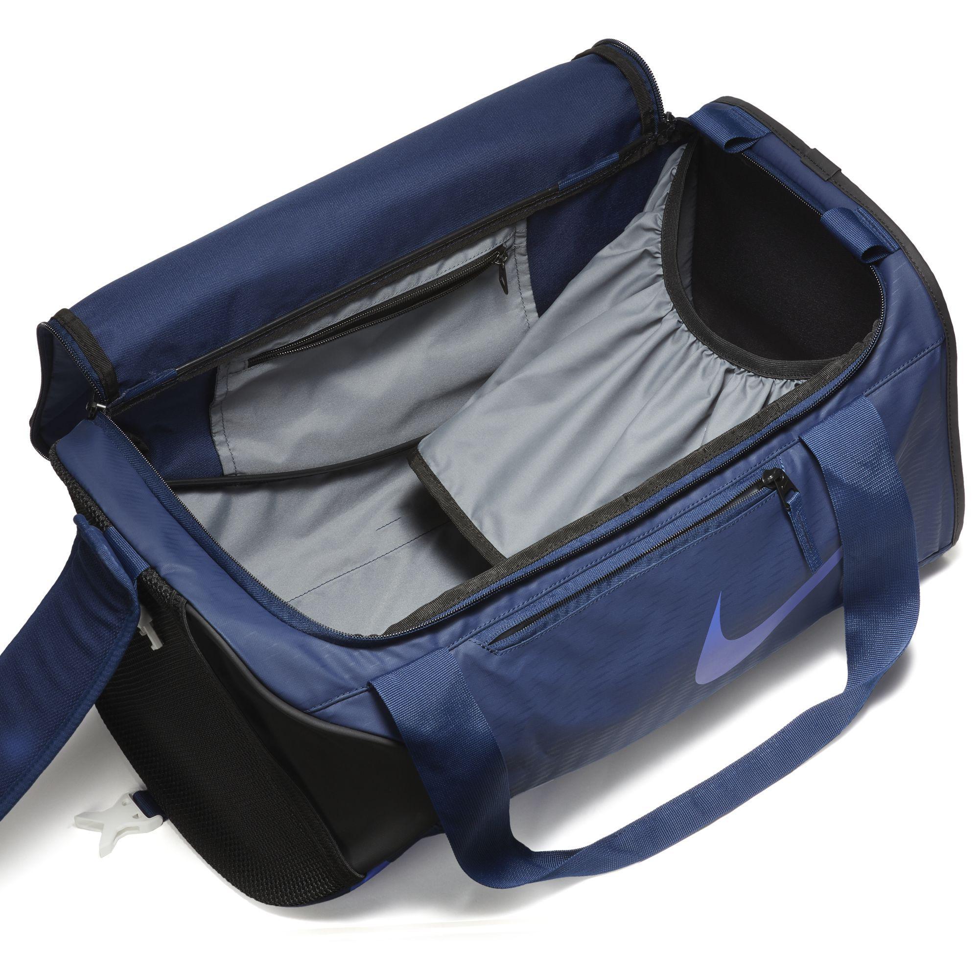 Nike Alpha Small Training Duffel Bag - Binary Blue Persian Violet ... d30c8004e9f2