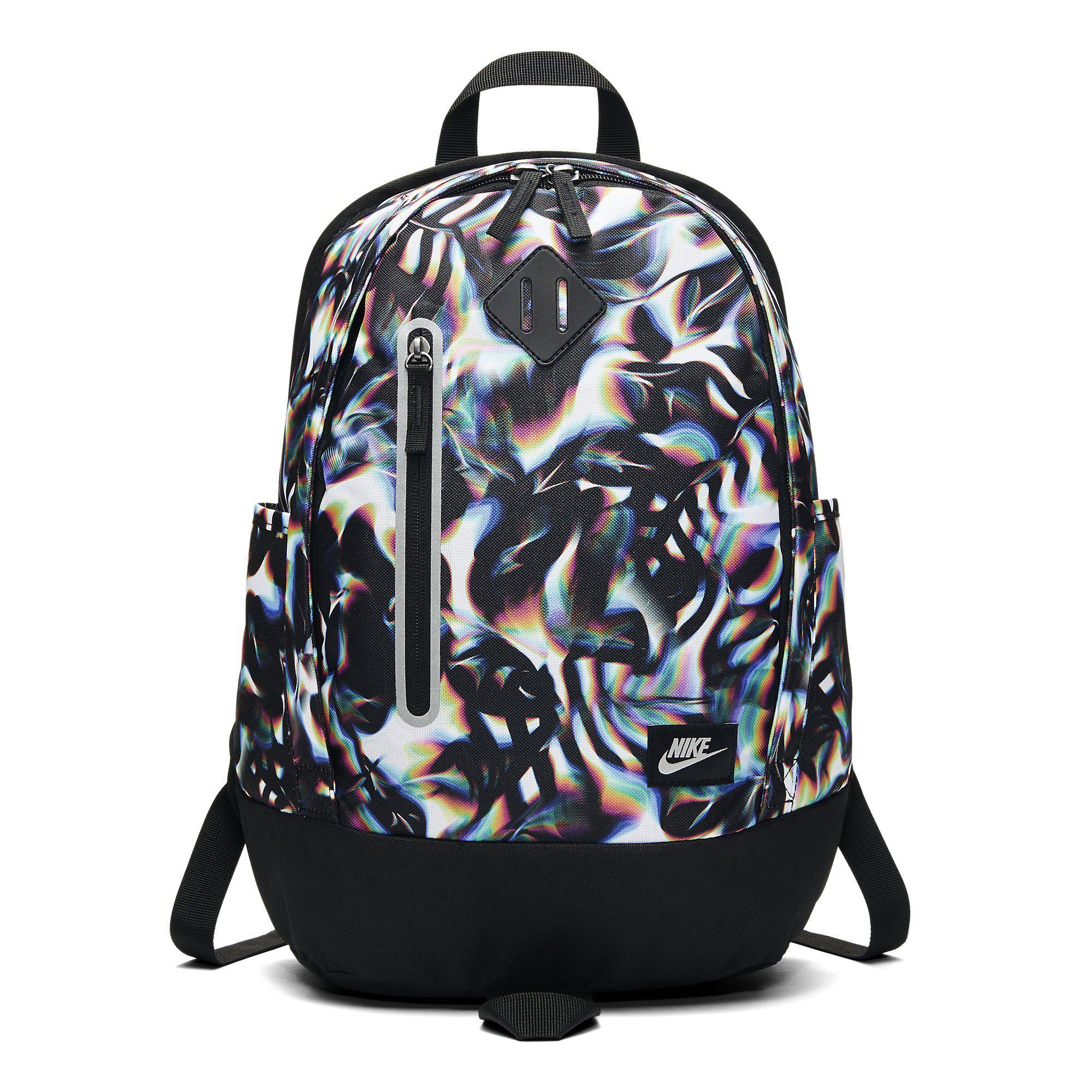 Nike Cheyenne Print Kids Backpack - White Black - Tennisnuts.com c981ccff62564
