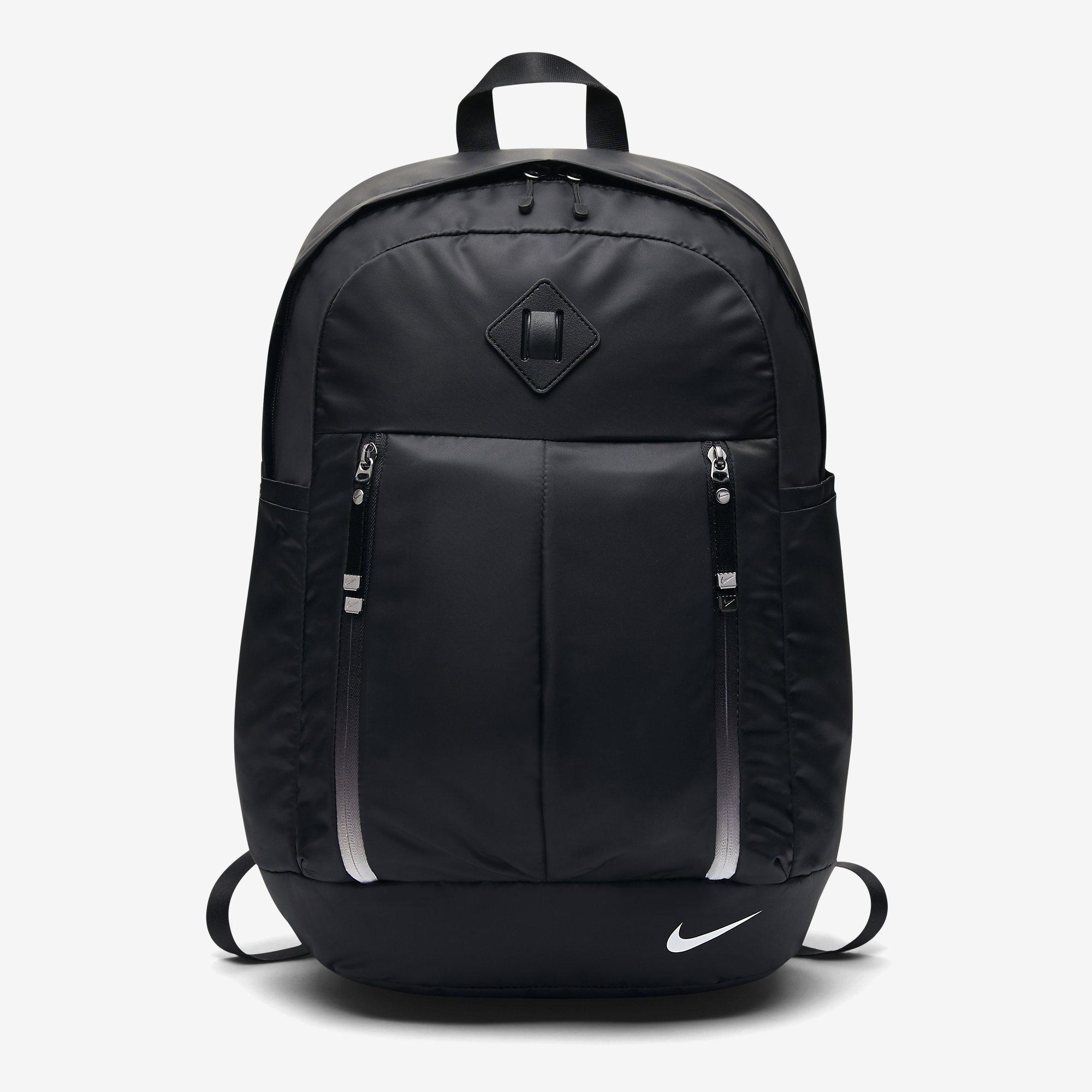 0eabe3401867a Nike Womens Auralux Training Backpack - Black White - Tennisnuts.com